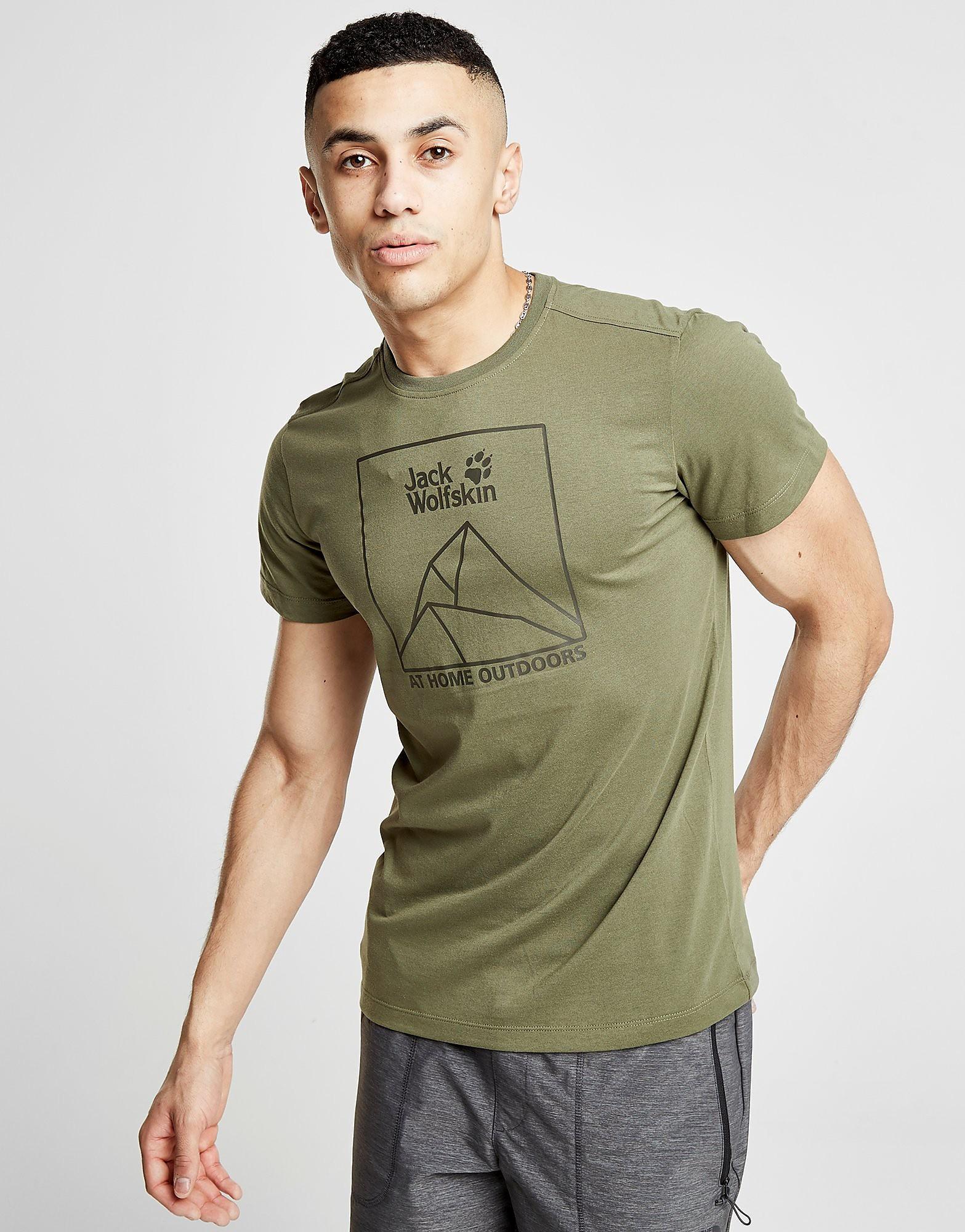 Jack Wolfskin Range Logo T-Shirt