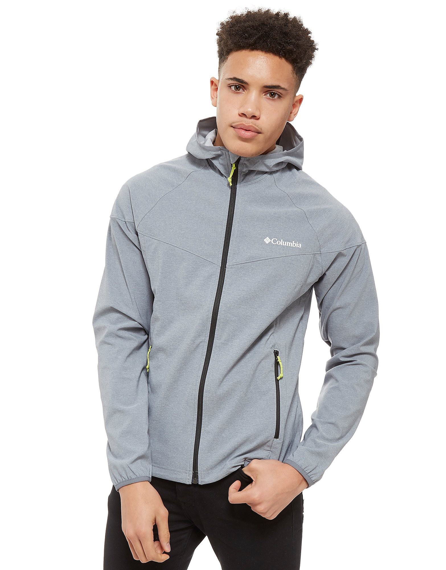 Columbia Softshell Zip Through Hooded Jacket