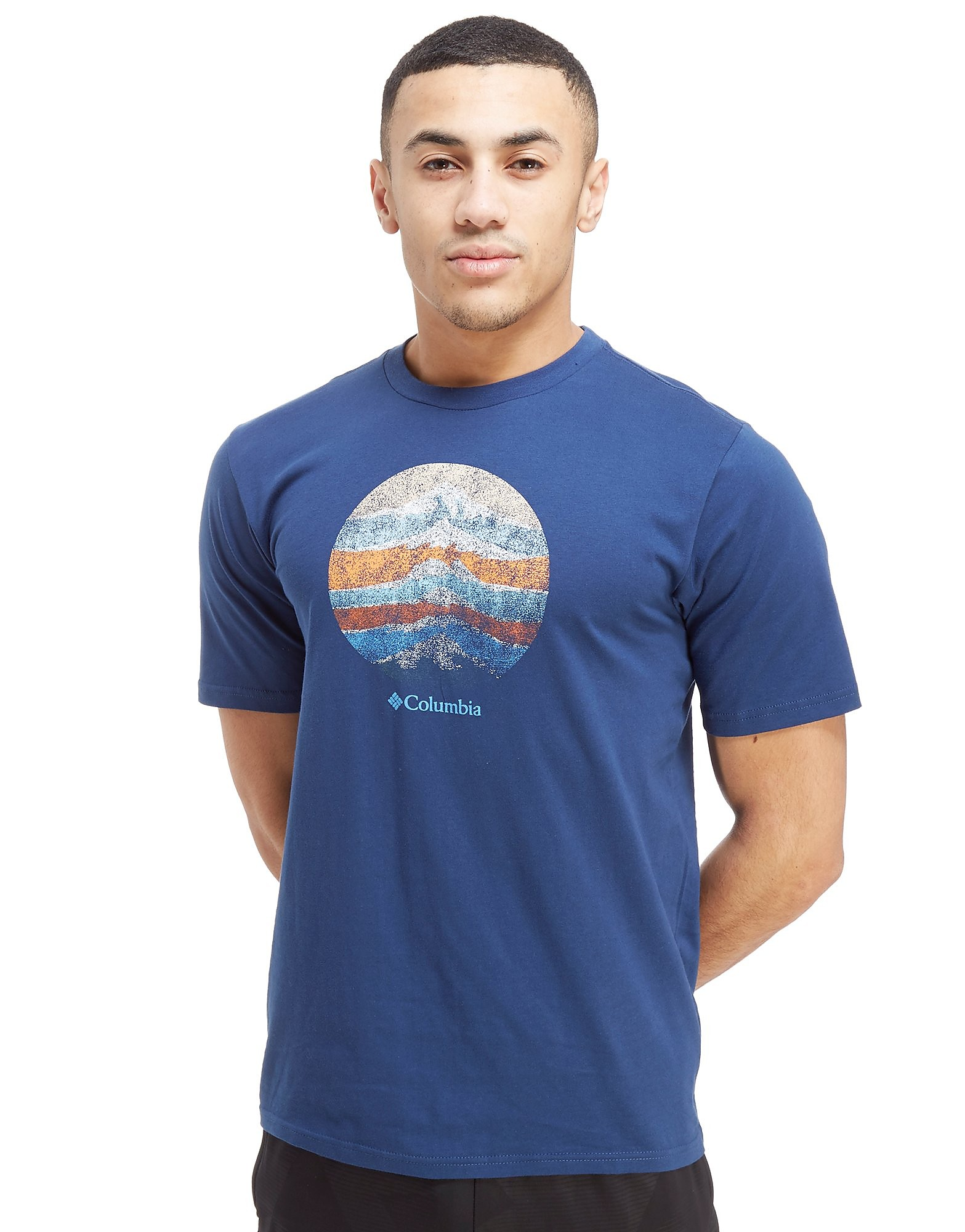 Columbia Short Sleeve Mountain Logo T-Shirt