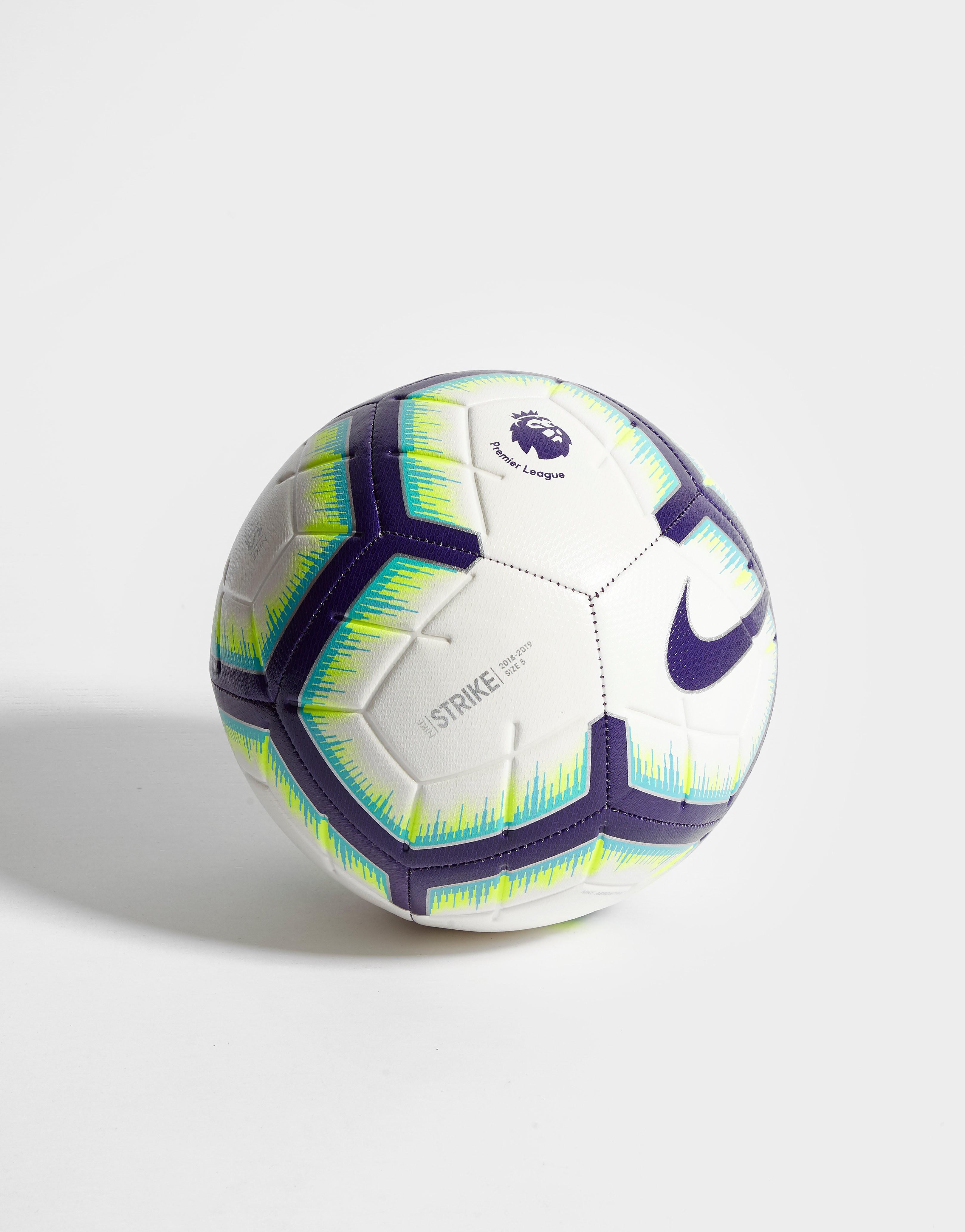 Nike Premier League 2018/19 Strike Football - Wit - Heren