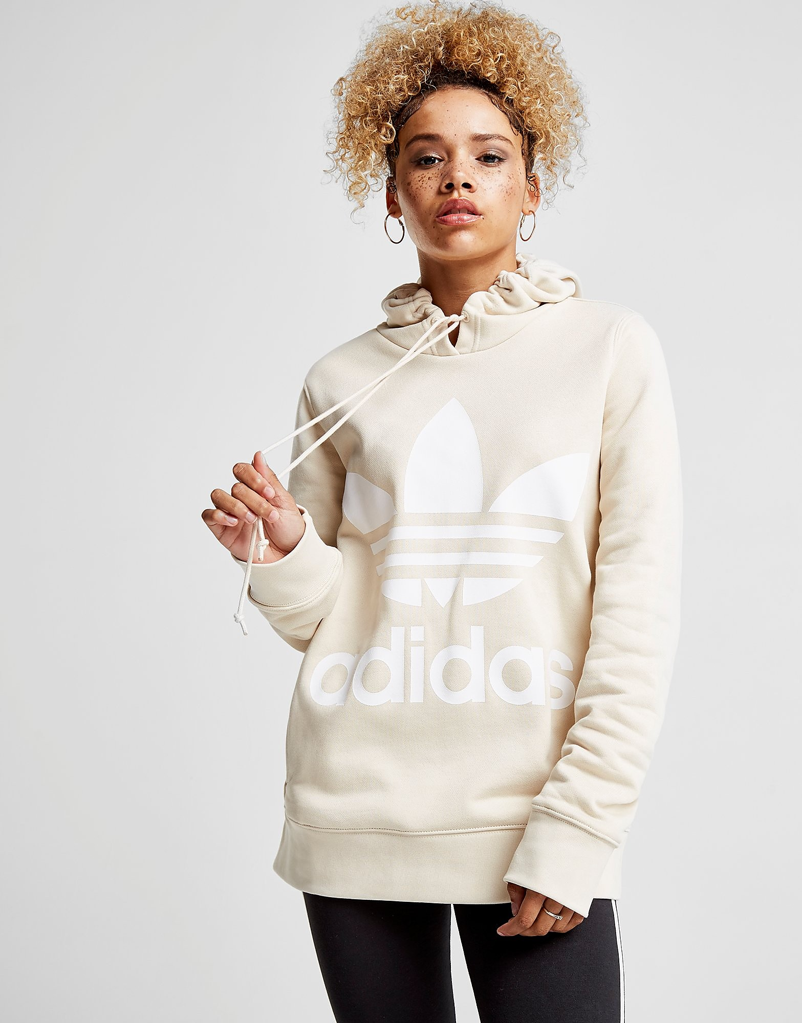 adidas Originals Sweat à capuche Trefoil Logo Femme