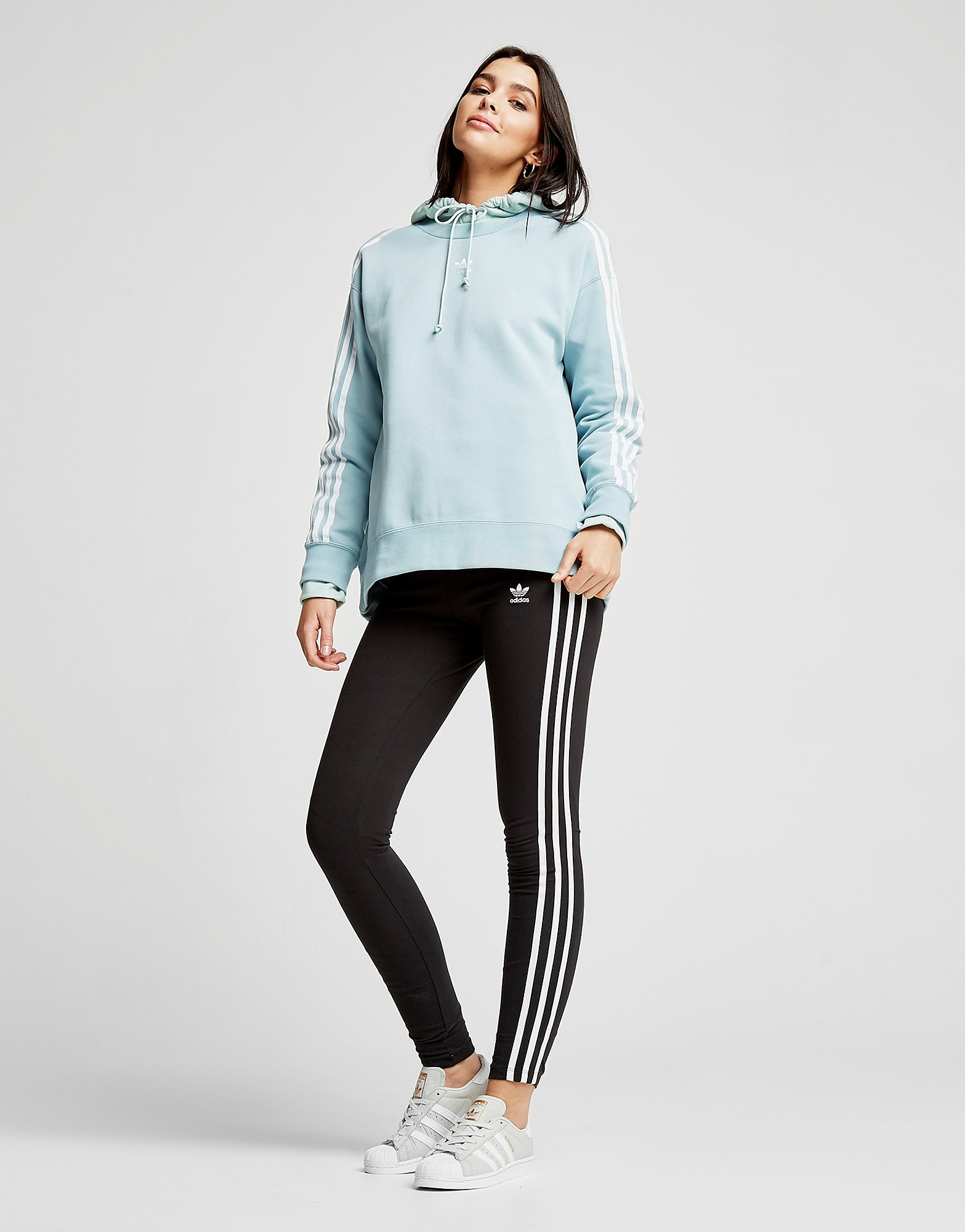 adidas Originals 3-Stripes Crew Sweatshirt