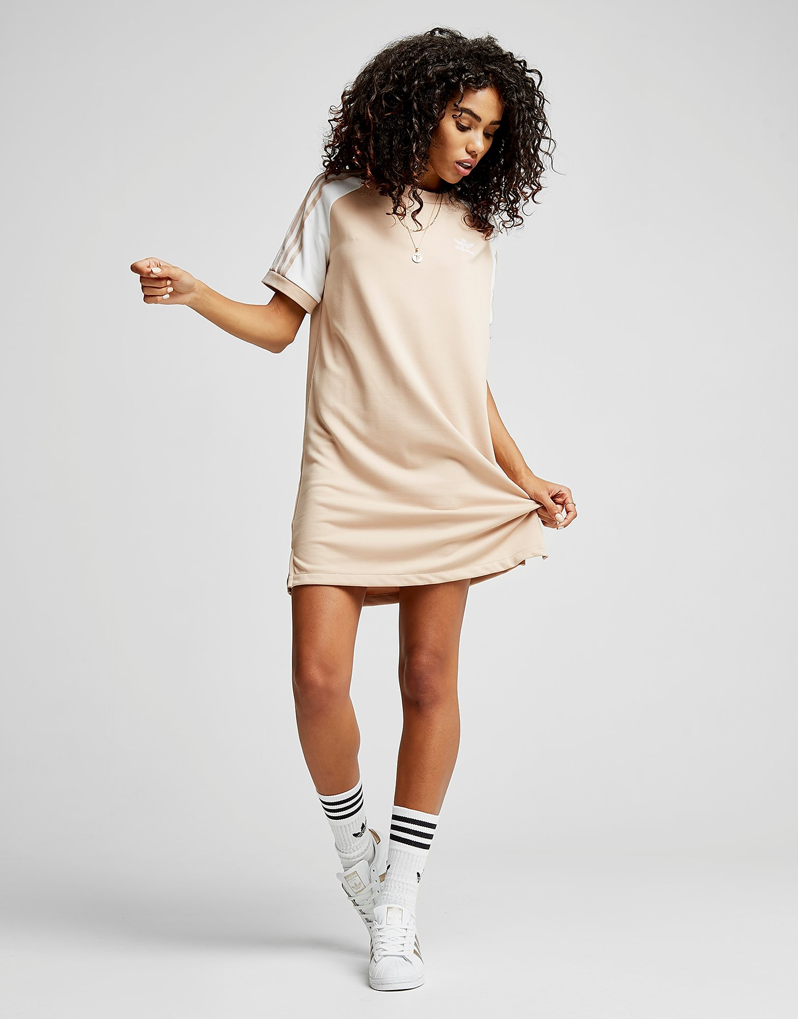 adidas Originals Raglan California T-Shirt Dress