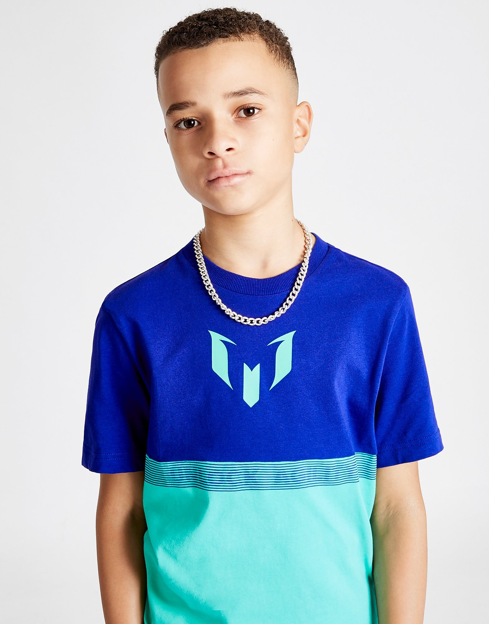 adidas Messi Colour Block T-Shirt Junior