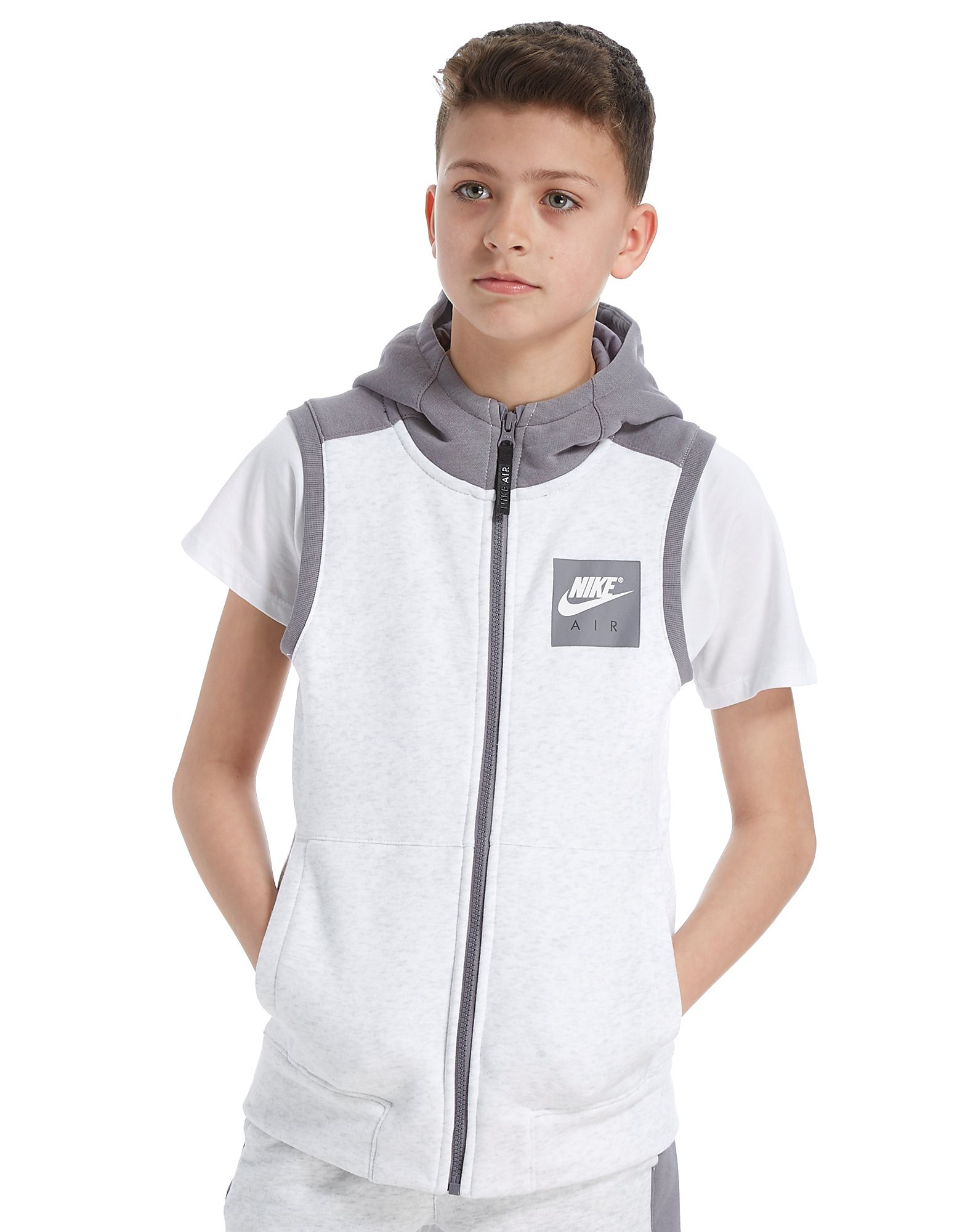 Nike Veste sans manches et à capuche Air Sleeveless Junior