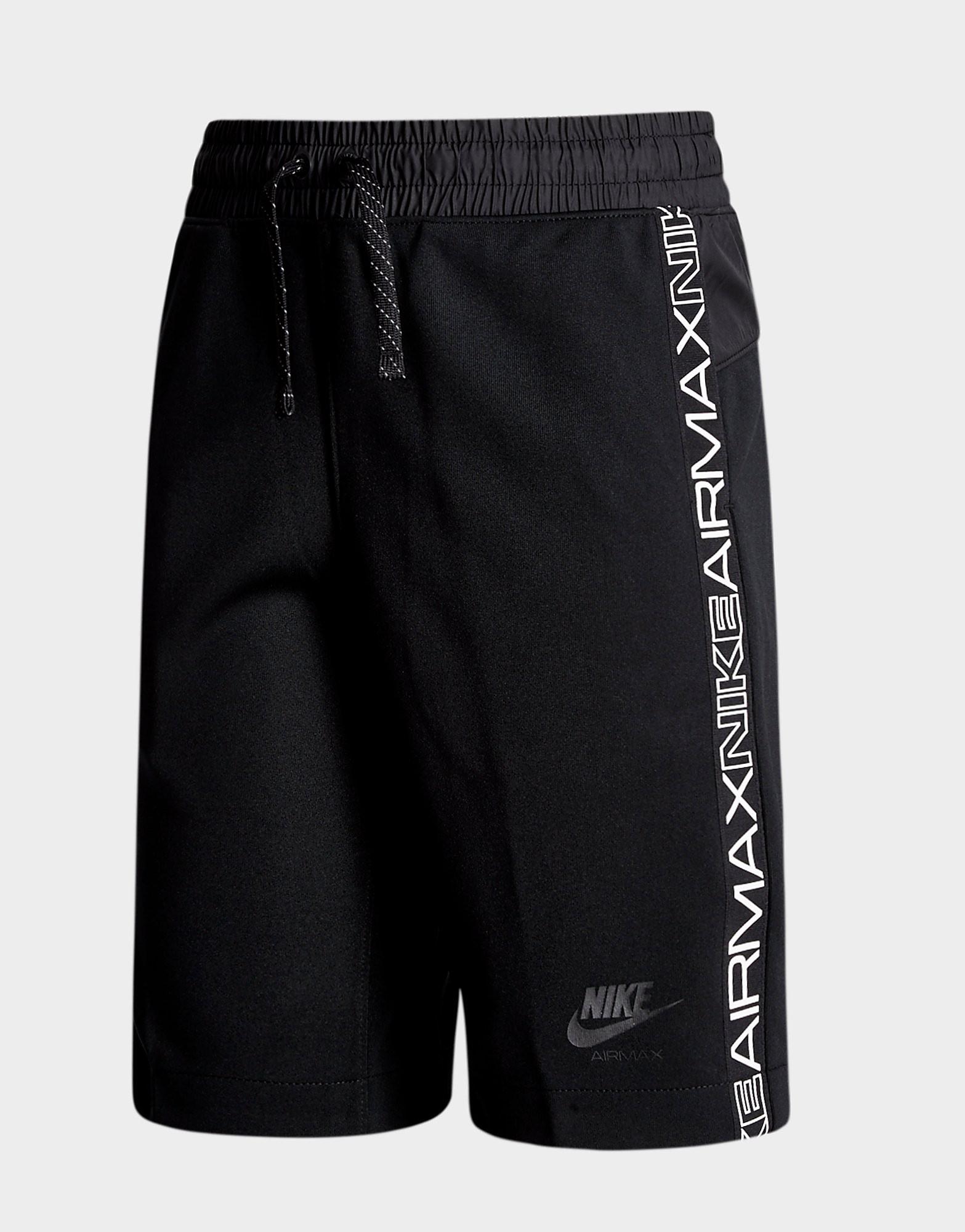 Nike Air Max Poly Shorts Junior - alleen bij JD - Zwart - Kind