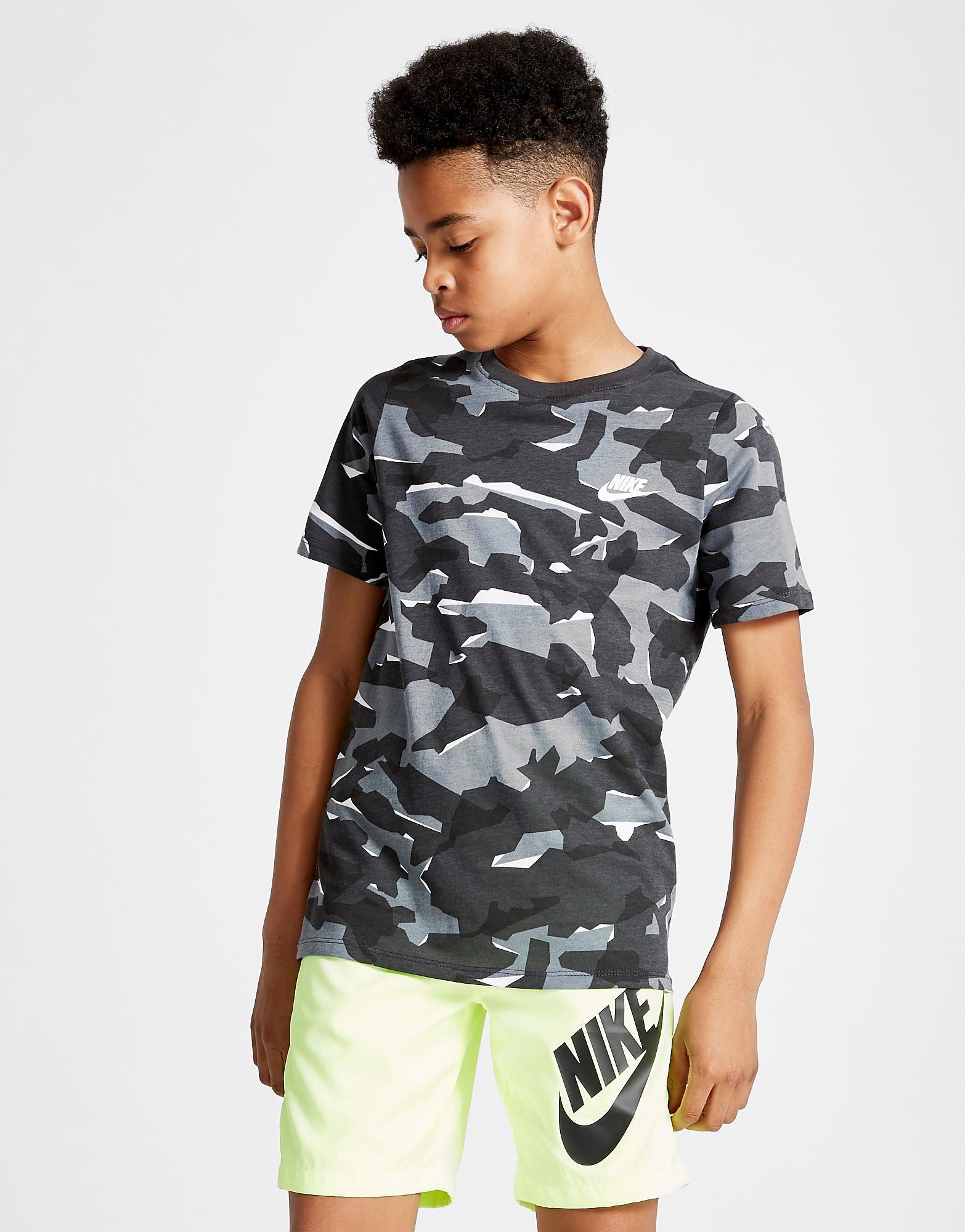Nike All Over Print Camo T-Shirt Junior