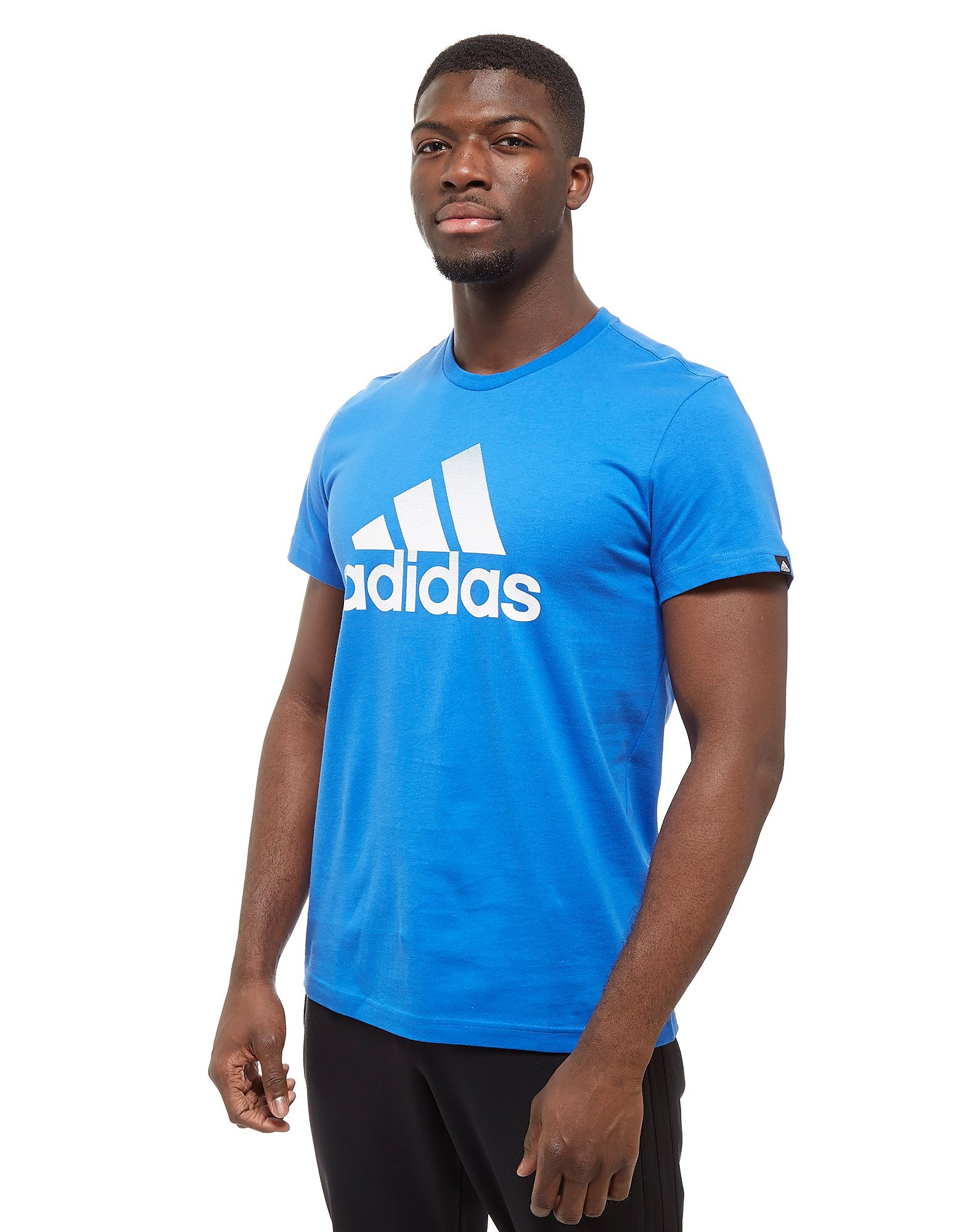 adidas Performance T-Shirt Homme - Only at JD - Blue/White, Blue/White