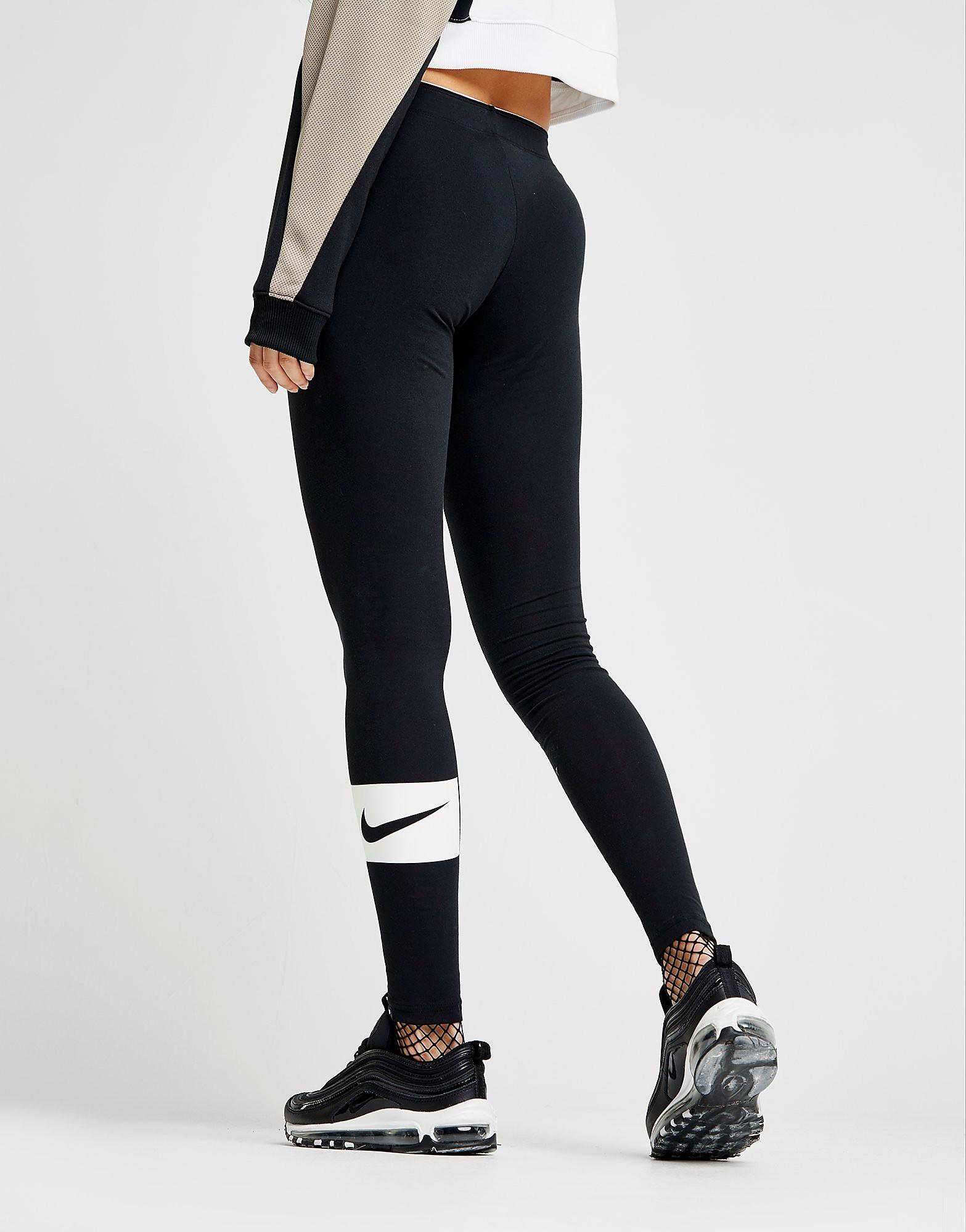 Nike Swoosh Box Leggings Damer