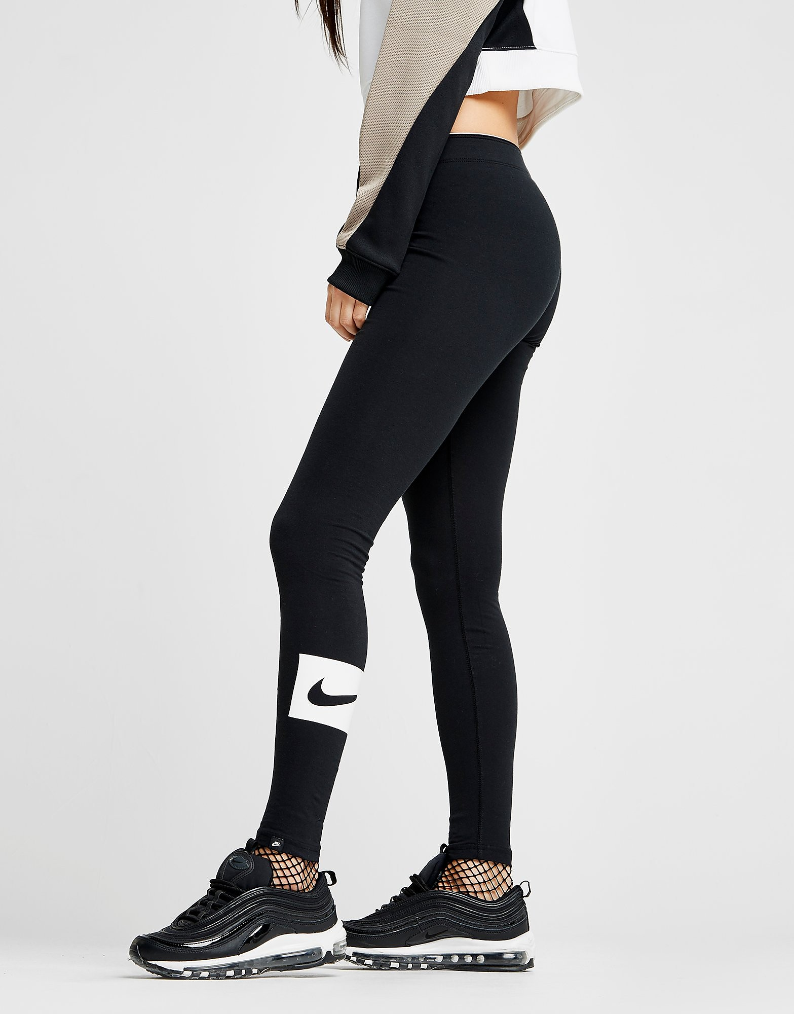 Nike Swoosh Box Leggings Dames
