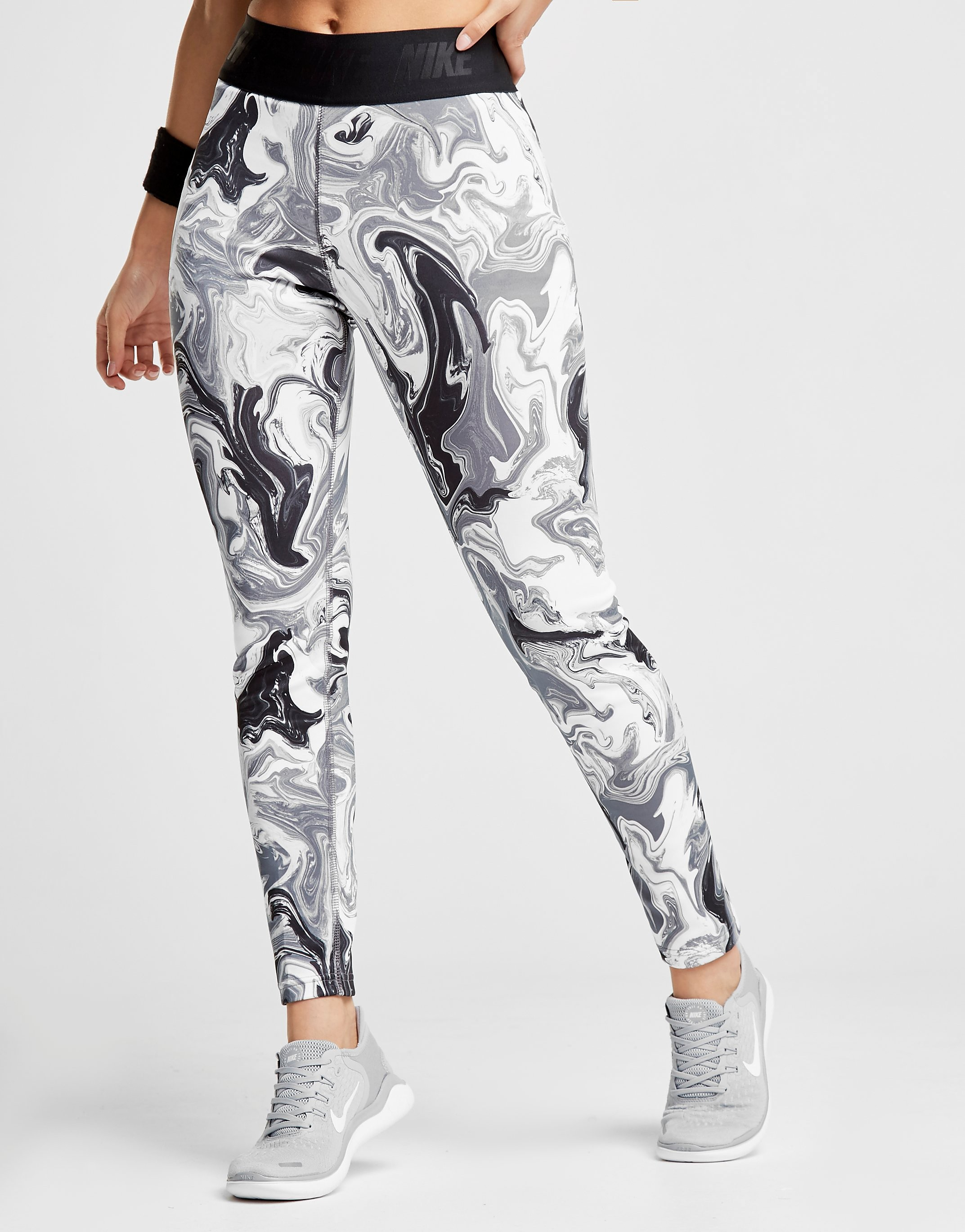 Nike Marble All Over Print Leggings Dames