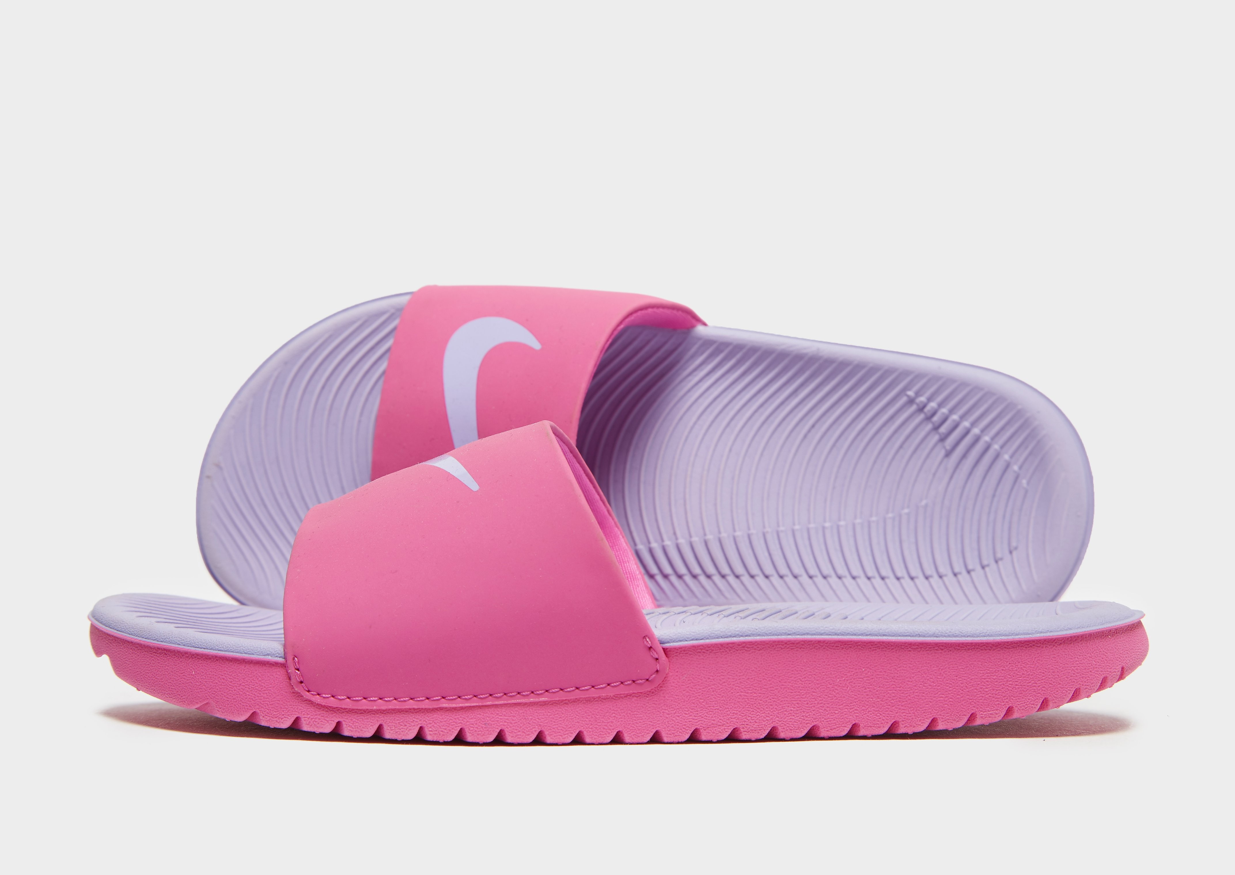 Nike Kawa Slides Children - Roze - Kind