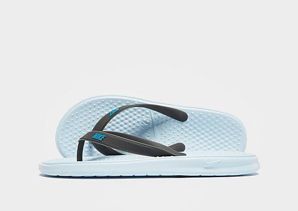 92f4edb3e Nike Solay Flip Flops Children - Blue - Kids