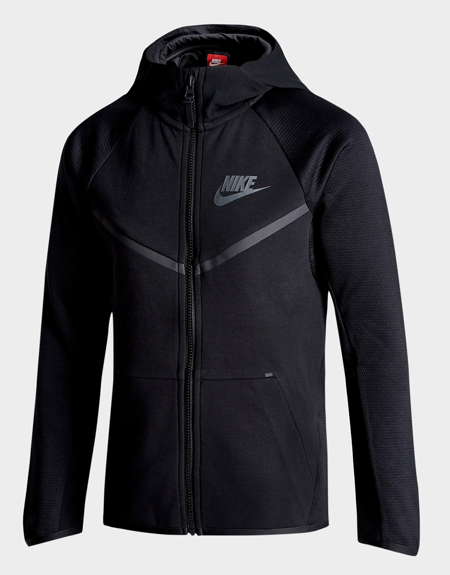 Nike Tech Poly Full Zip Hoodie Junior