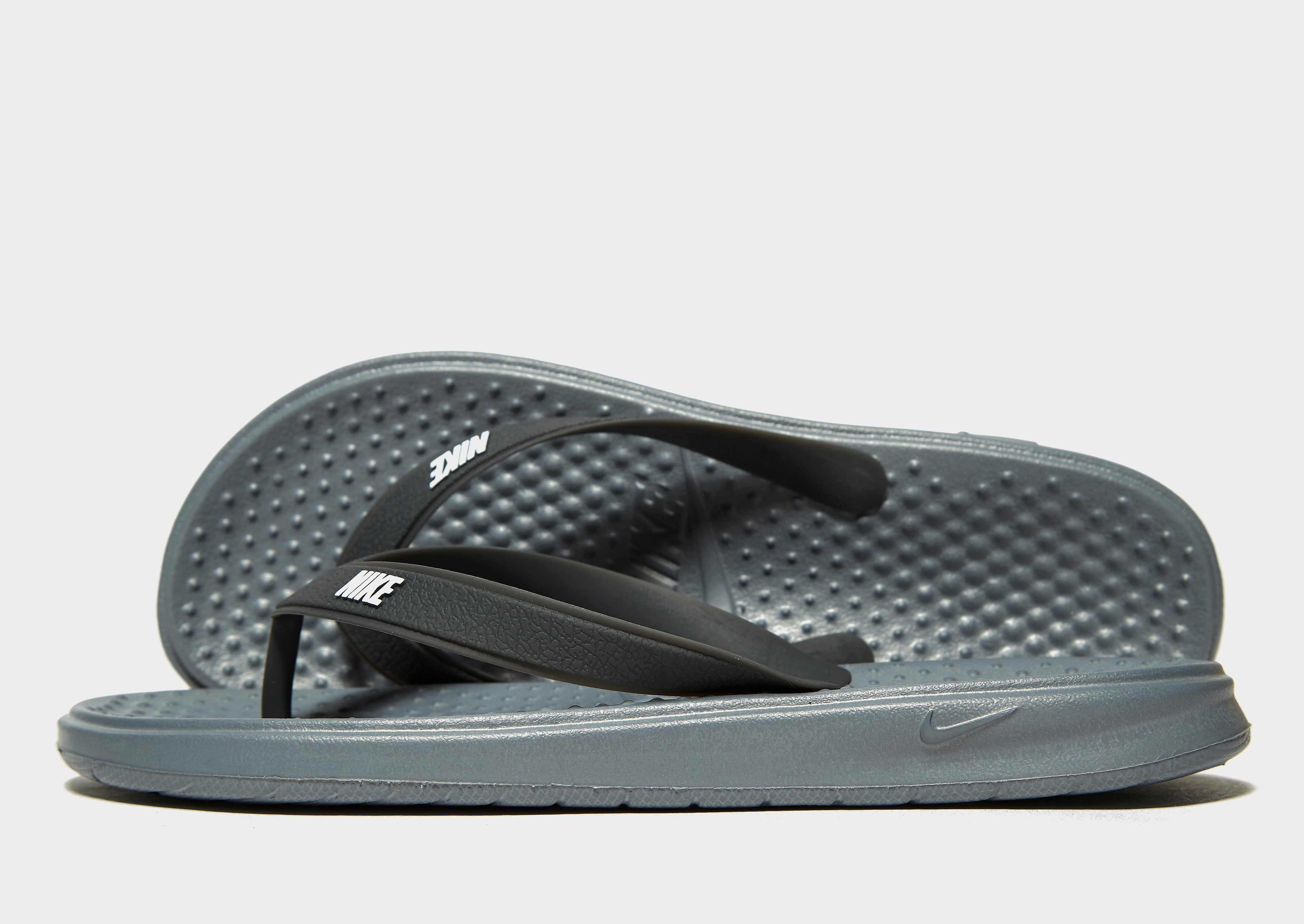 Nike Solay Flip Flops Junior - Grijs - Kind