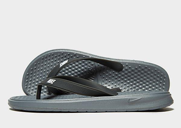 Nike Solay Flip Flops Junior - Grey/Dark Grey - Kind