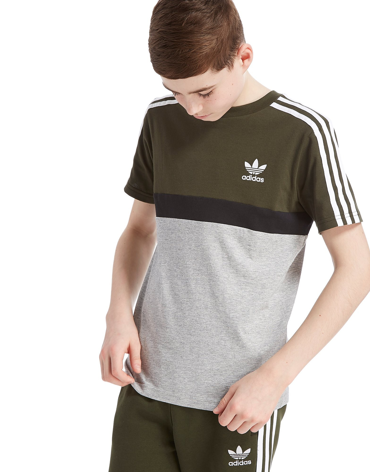 adidas Originals California Colourblock T-Shirt Junior