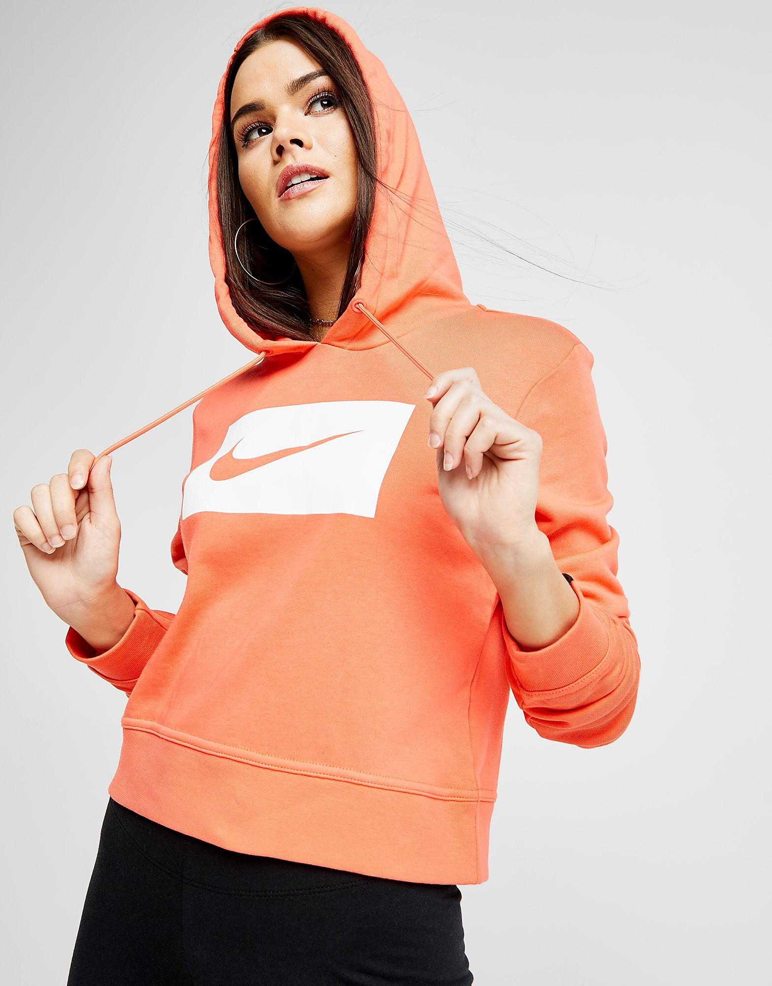 Nike Swoosh Crop Hoodie