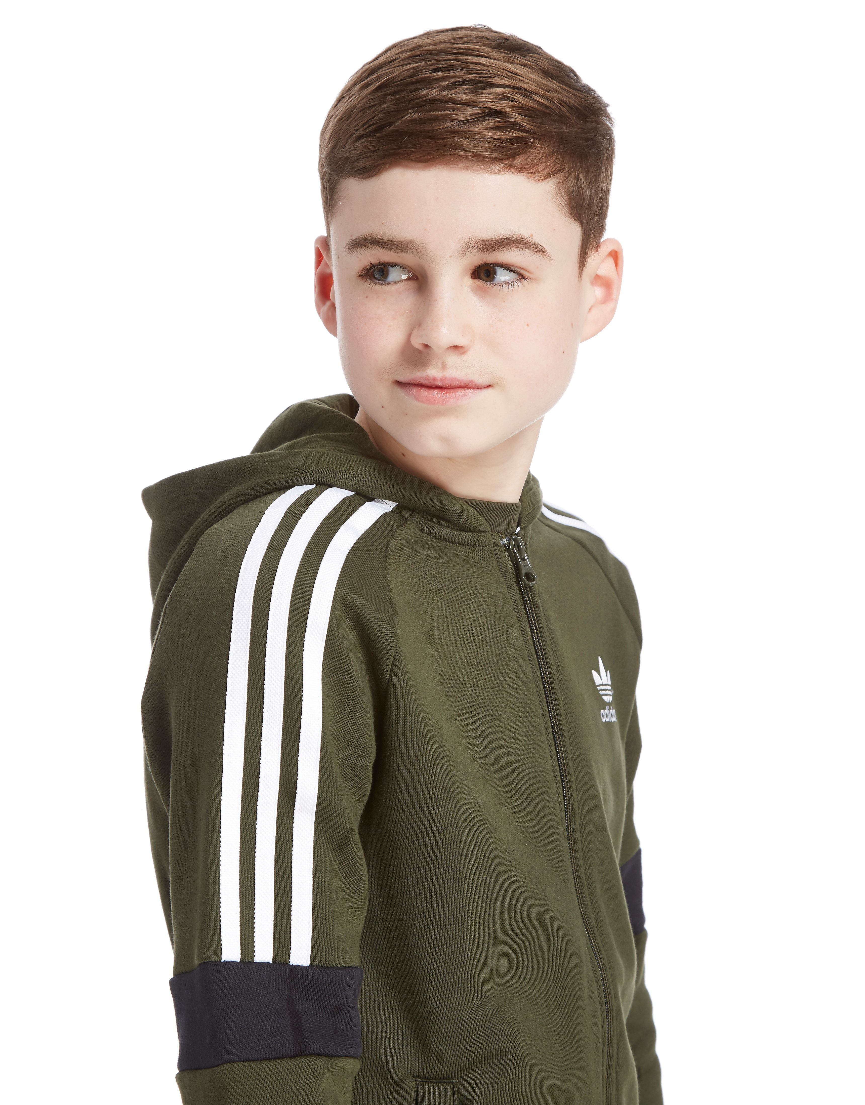 adidas Originals Europe Full Zip Hoodie Junior
