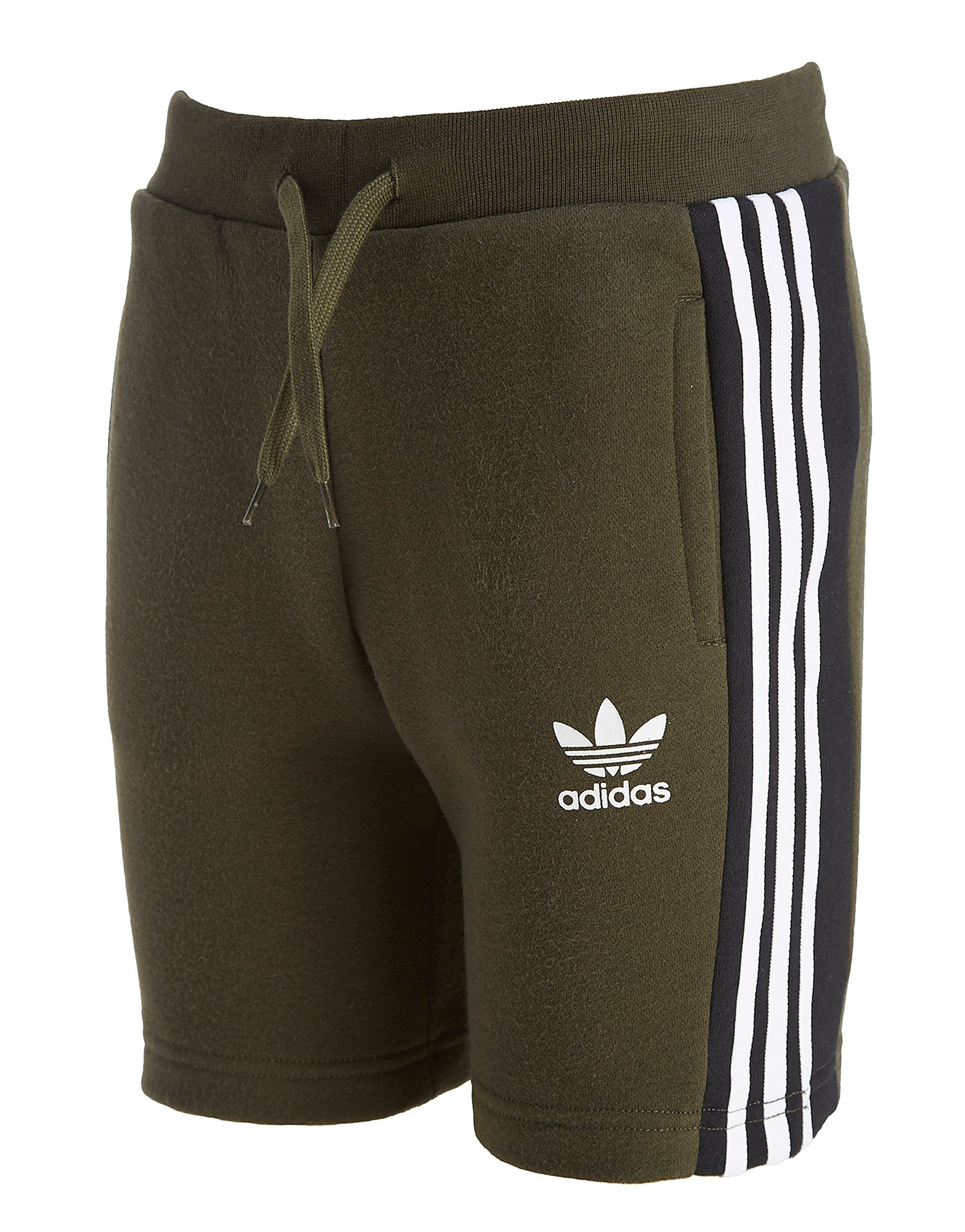 adidas Originals 3-Stripes Fleece Trefoil Shorts Junior