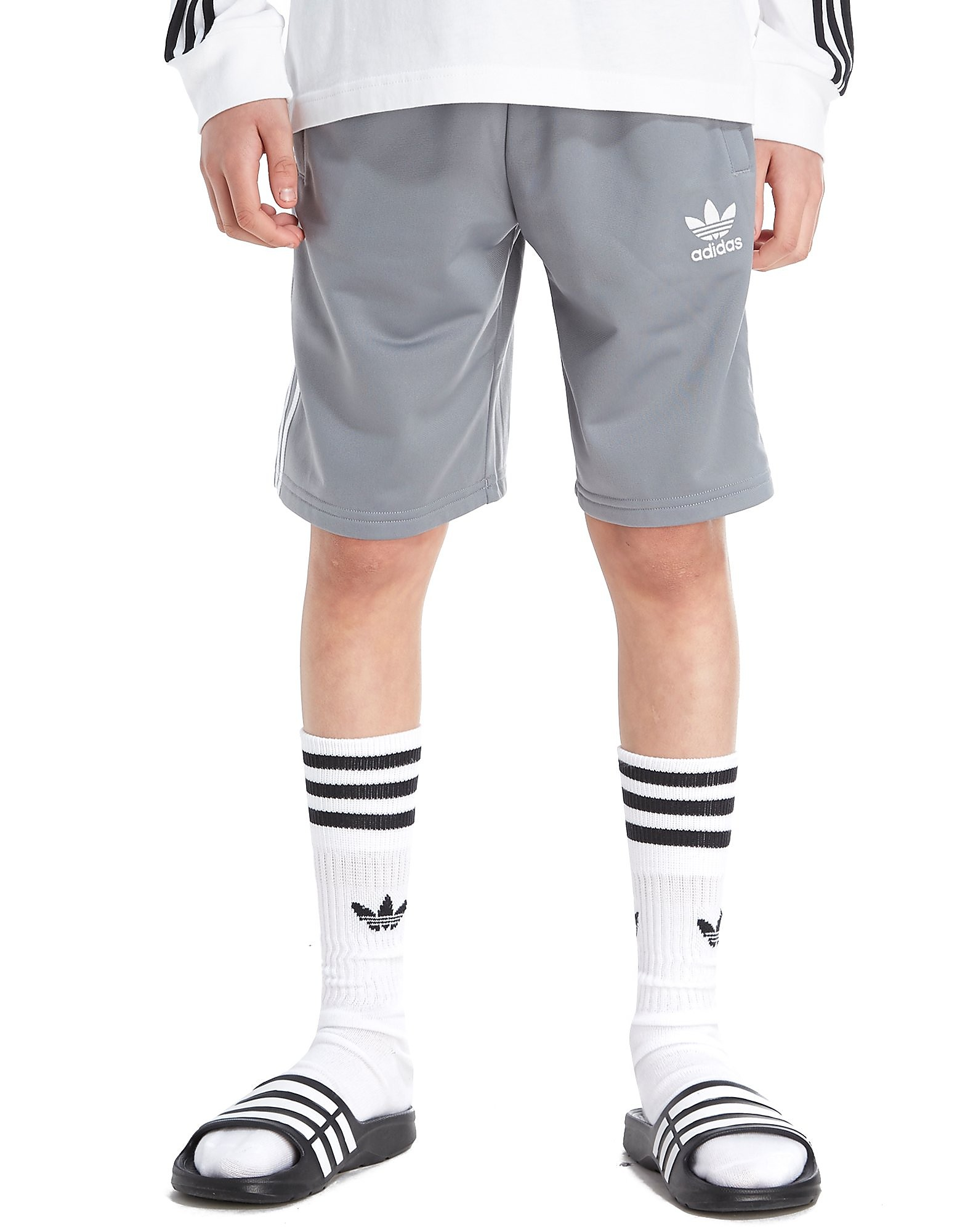 adidas Originals 3-Stripes Poly Shorts Junior