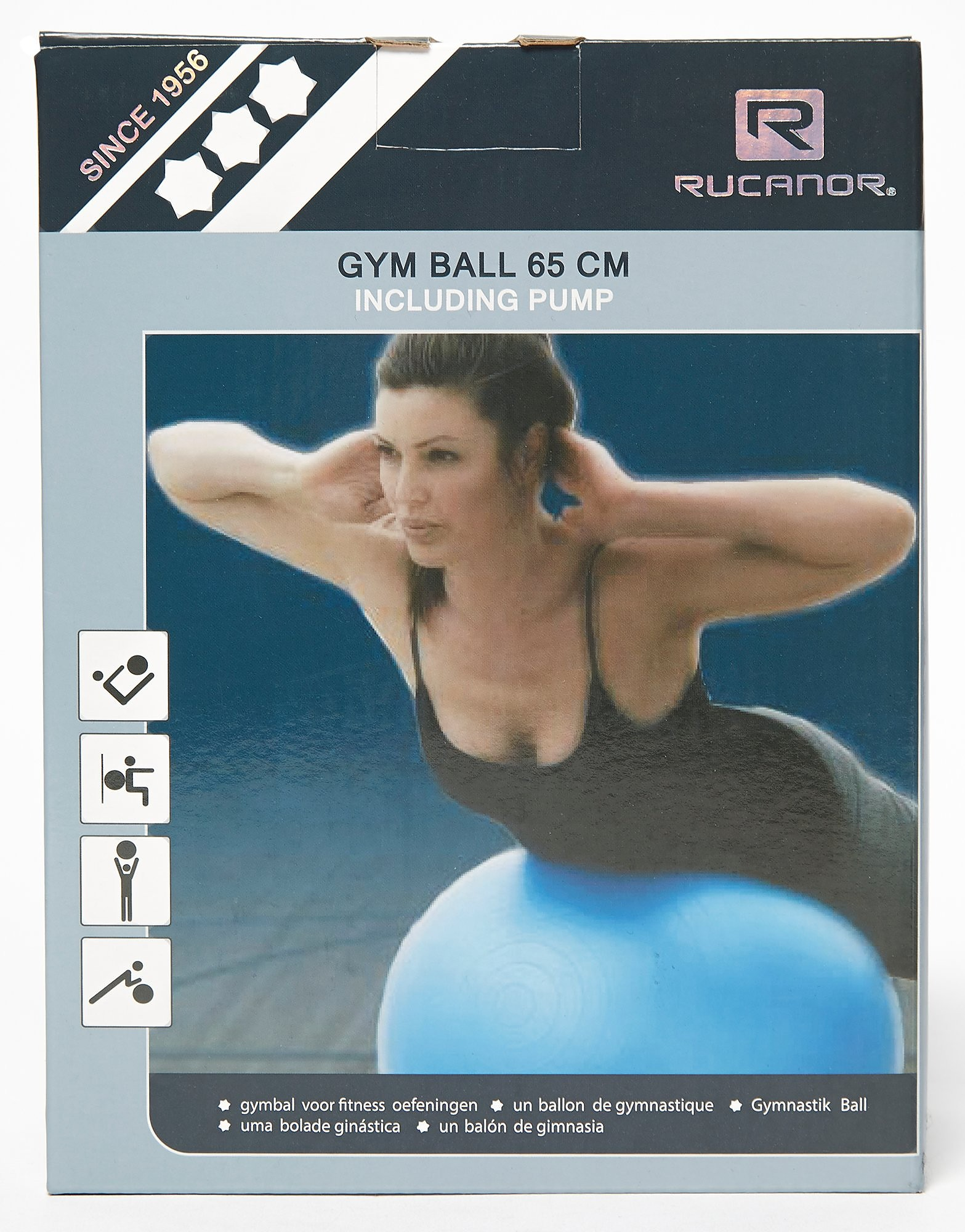 Daricia Exercise Ball With Pump