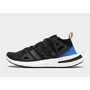 Adidas Originals La Trainer Ii 2 Mens Shoes Black/Black/White Black UK Sale