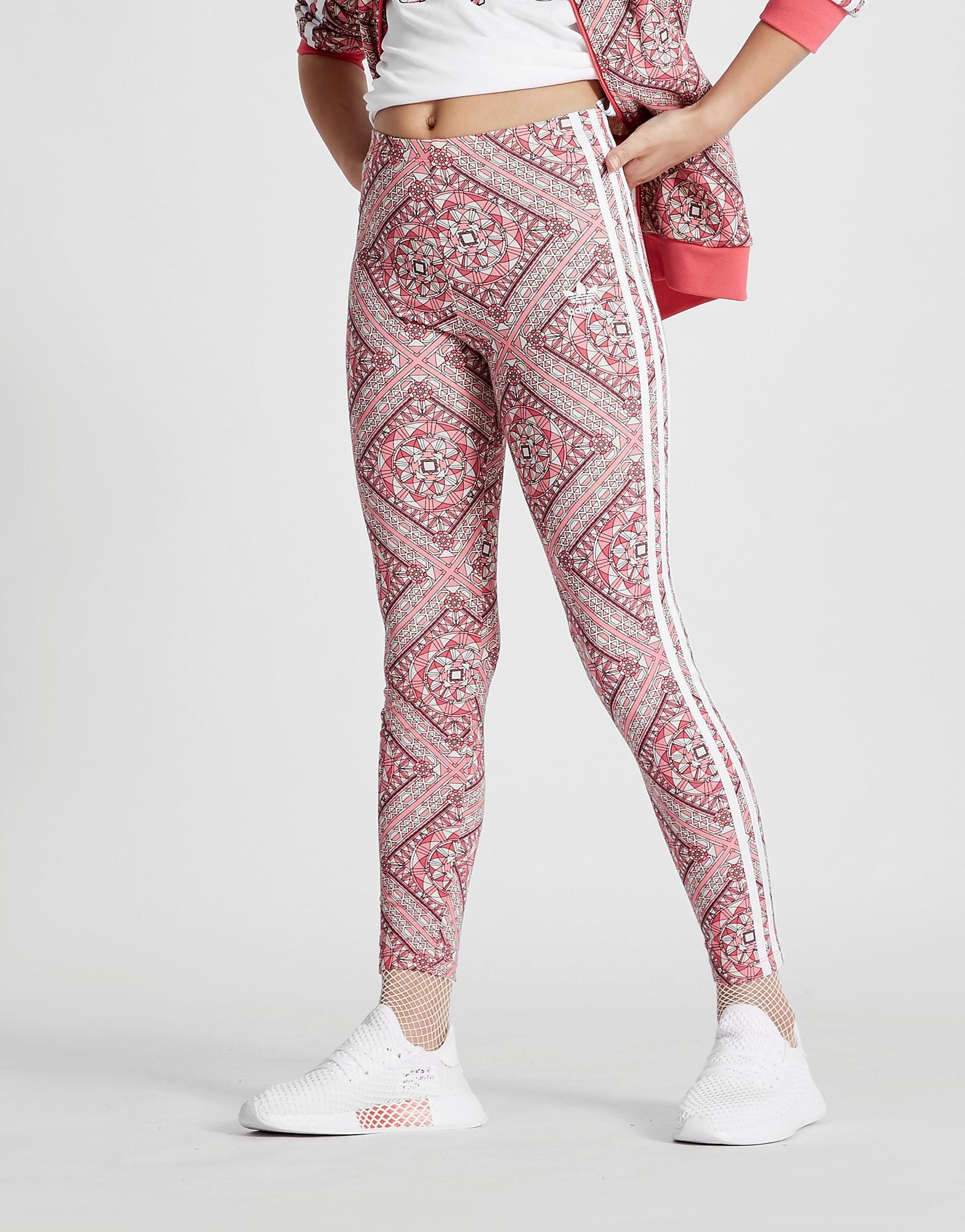 adidas Originals Girls' Geo Leggings Junior