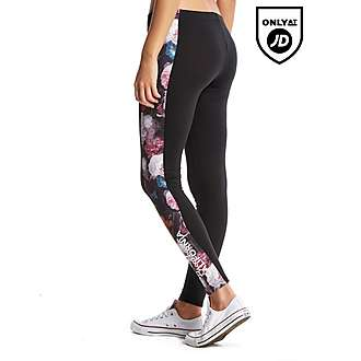 Brookhaven Floral Panel Leggings