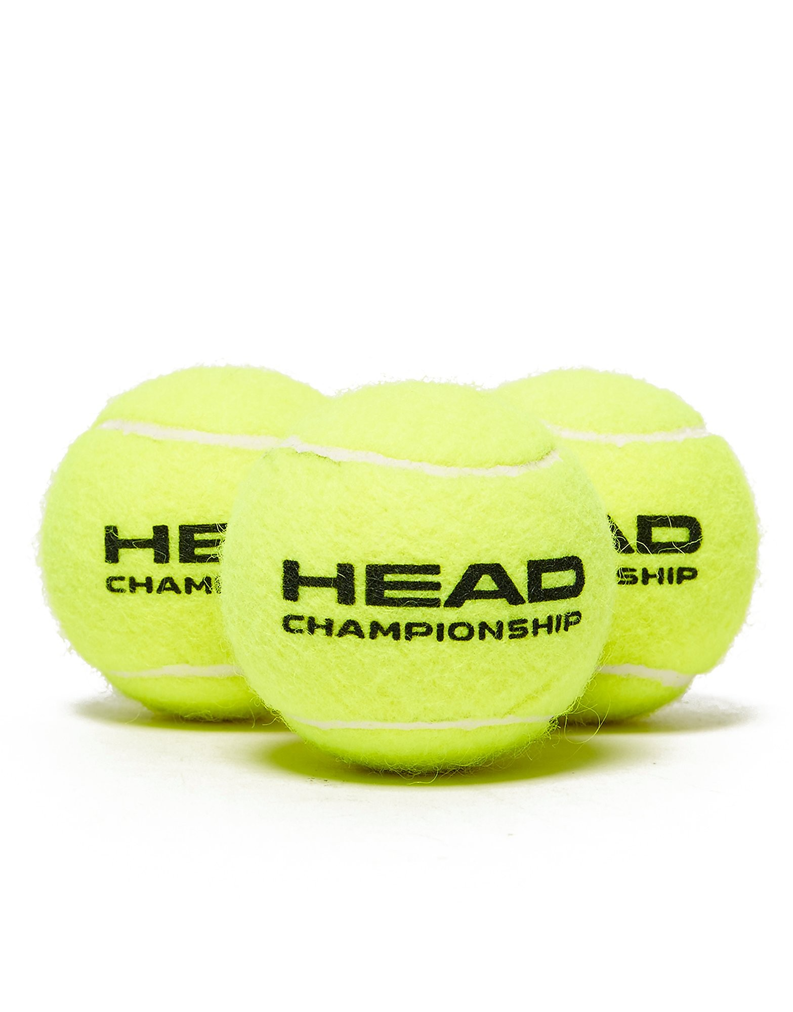 Head Head 3 Pack Tennis Balls