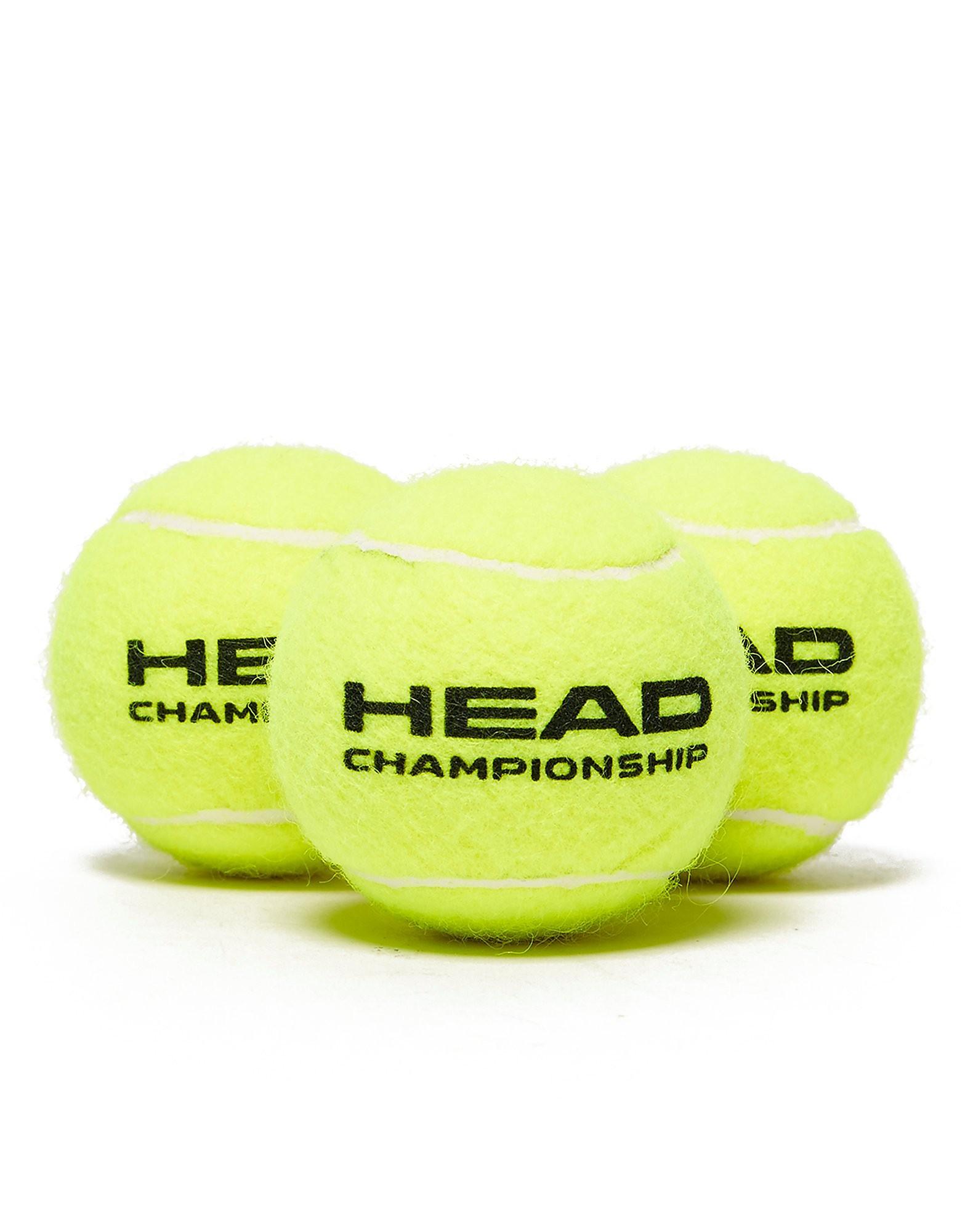 Head Head 3 Pack Tennis Balls