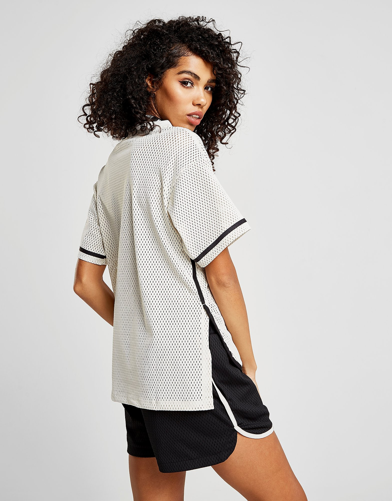 Nike Mesh Short Sleeve Top