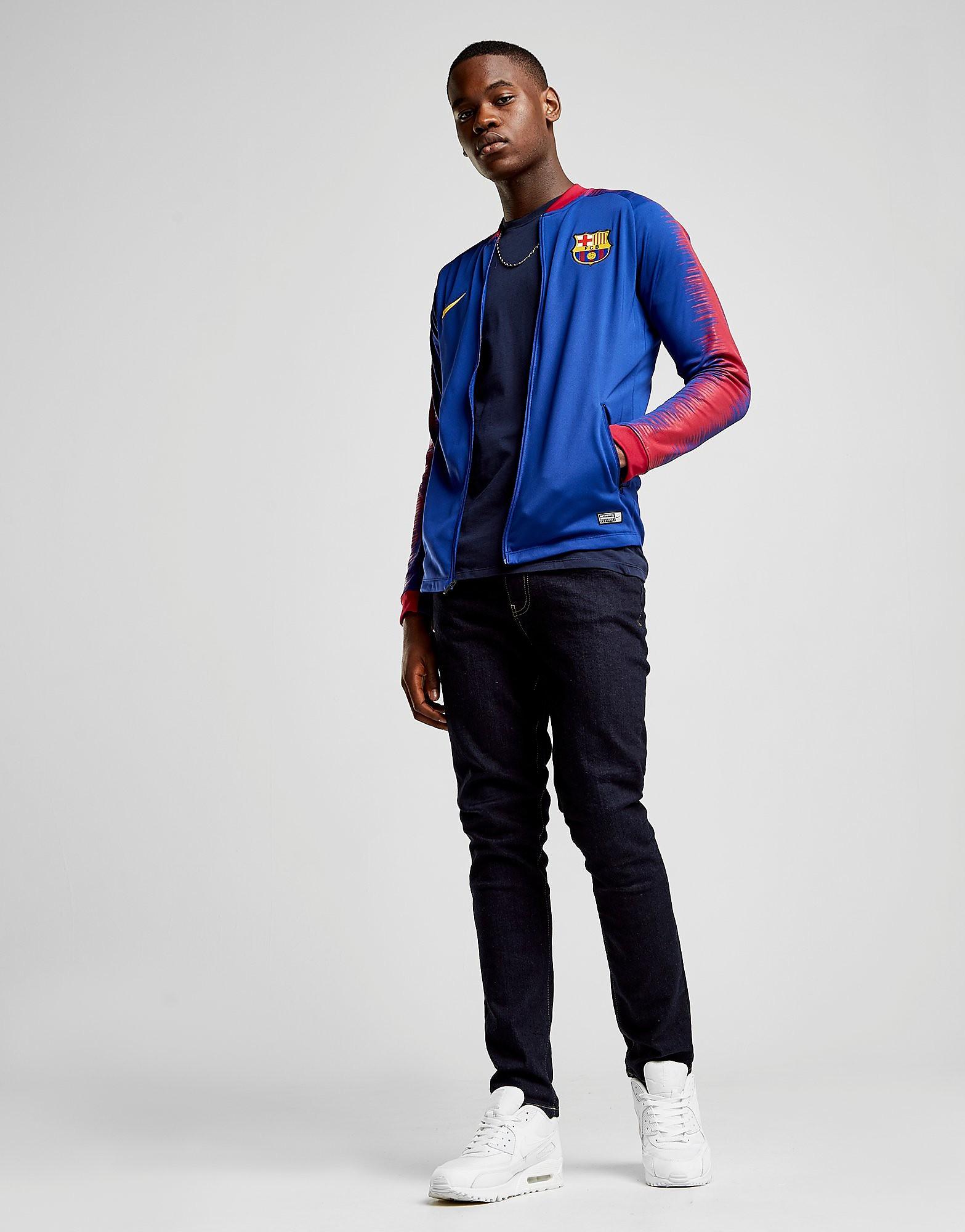 Nike FC Barcelona Anthem Jacket Heren - Blauw - Heren