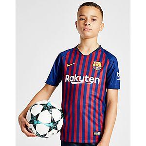 new style 7afae 134db NIKE 2018 19 FC Barcelona Stadium Home Older Kids  Football Shirt ...