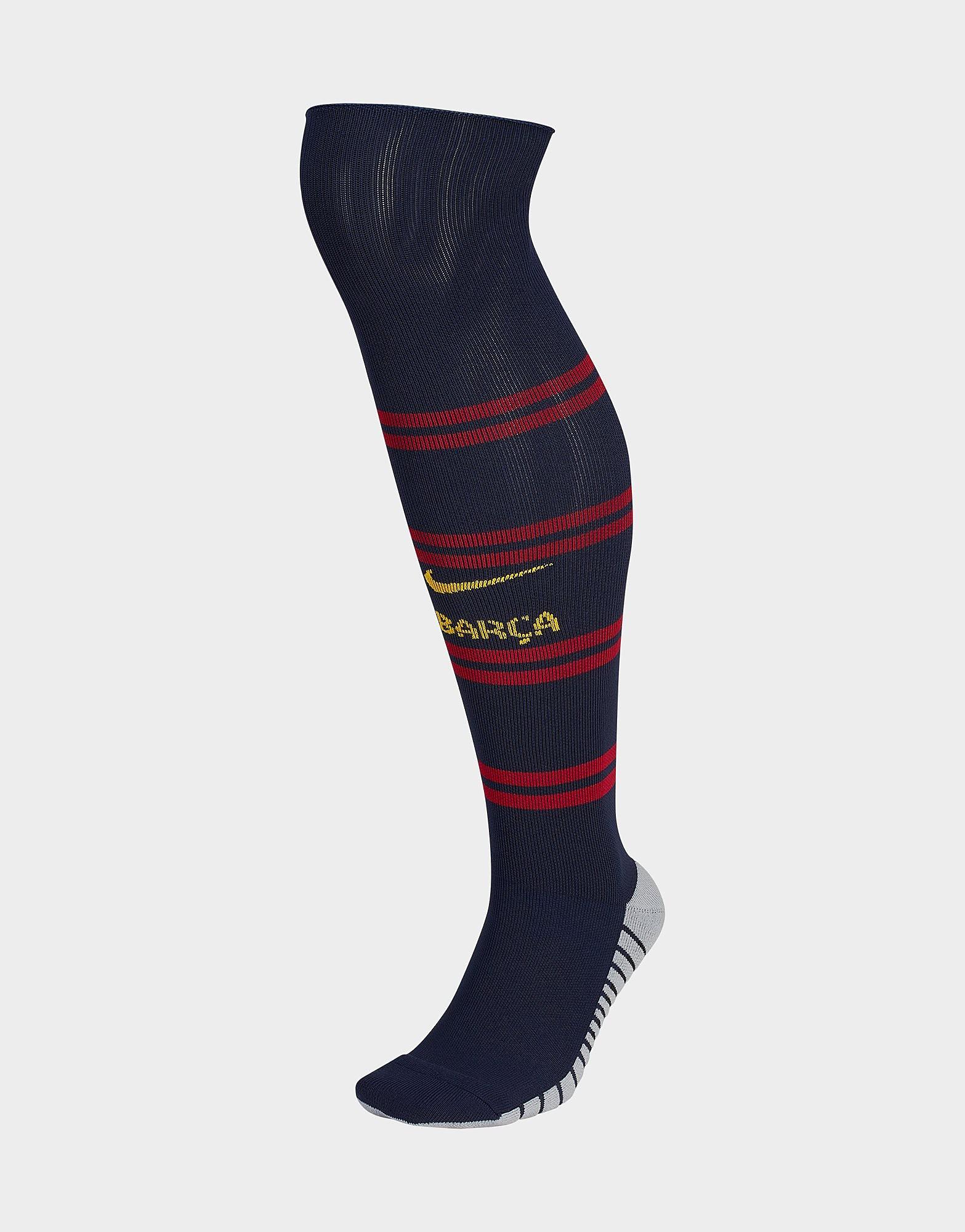 Nike FC Barcelona 2018/19 Home Socks Junior - Blauw - Kind