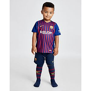 Nike FC Barcelona 2018 19 Home Kit Children ... d4058b91ac61