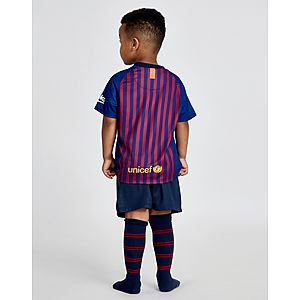 ... Nike FC Barcelona 2018 19 Home Kit Children 889758c908acf