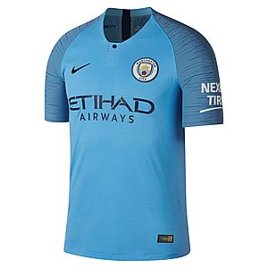 Nike Manchester City 18 19 Home Vapor Shirt ... 45e212fb2