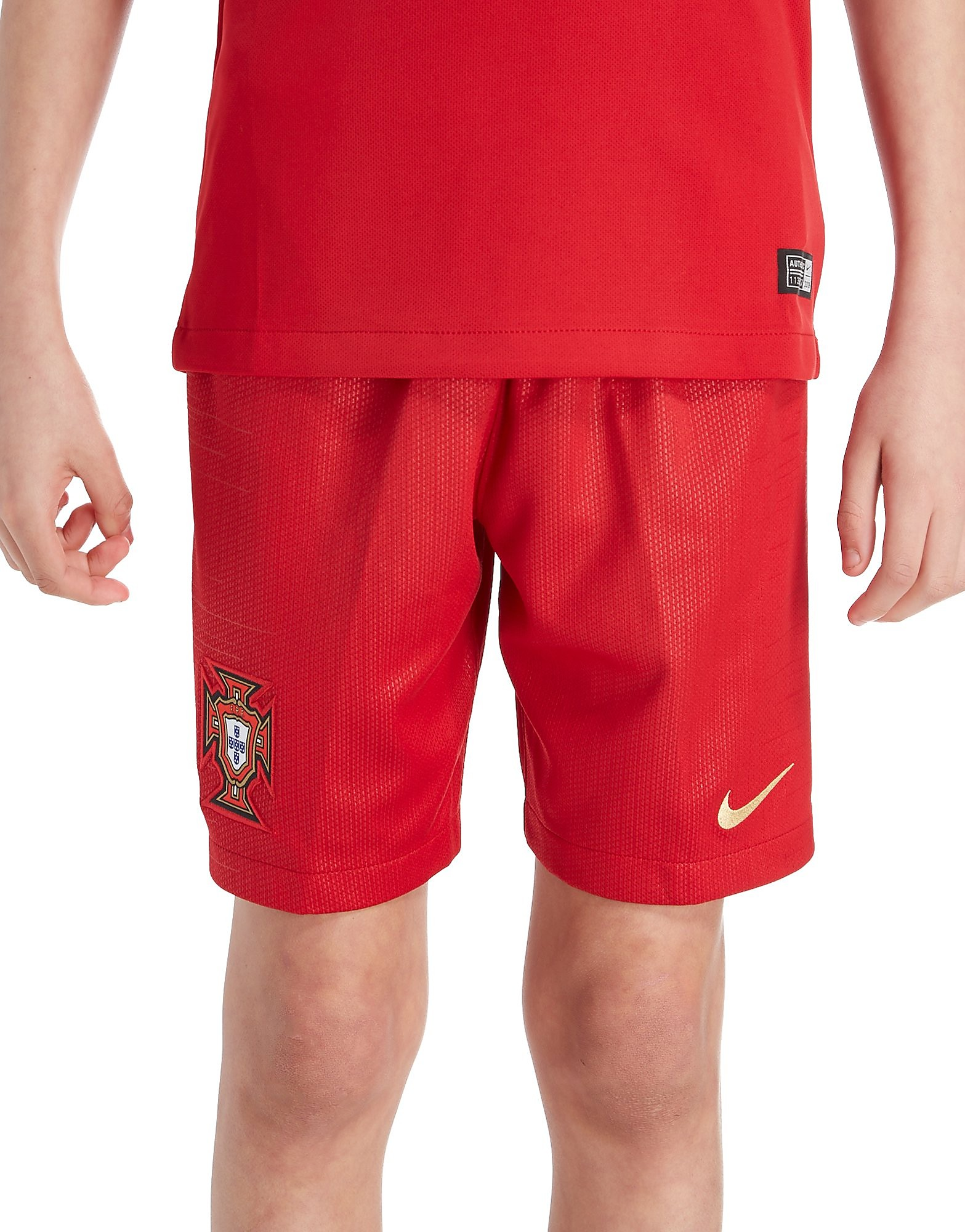 Nike Portugal 2018 Home Shorts Junior