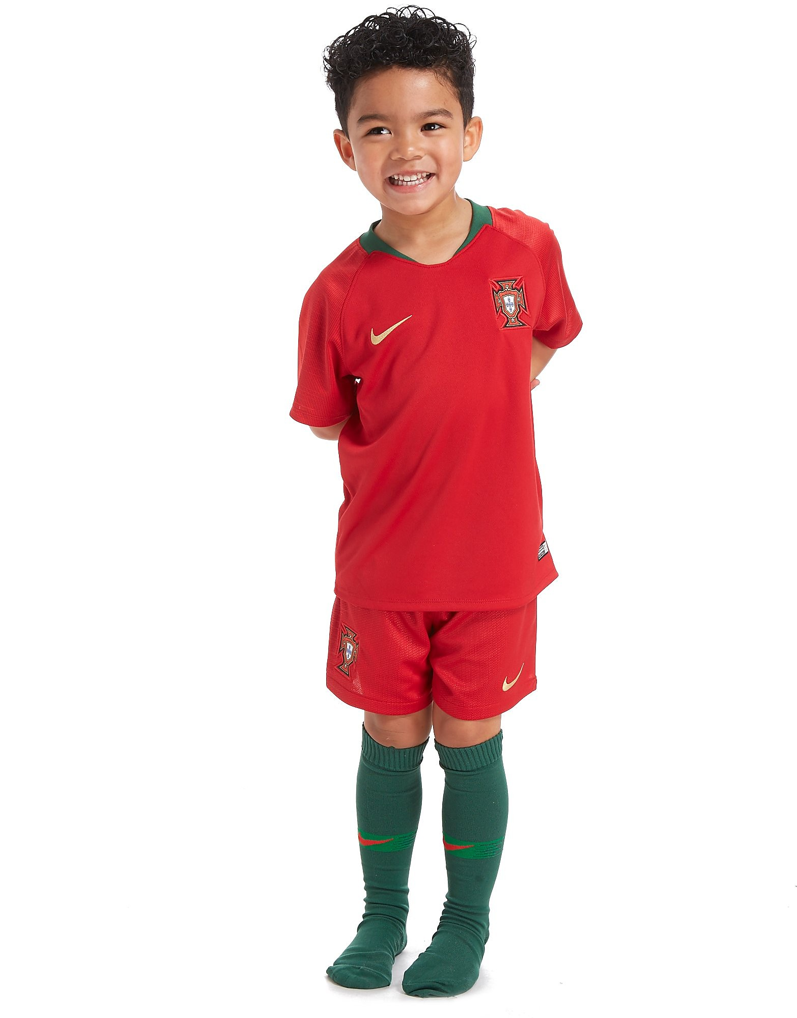 Nike Portugal 2018 Home Kit Children