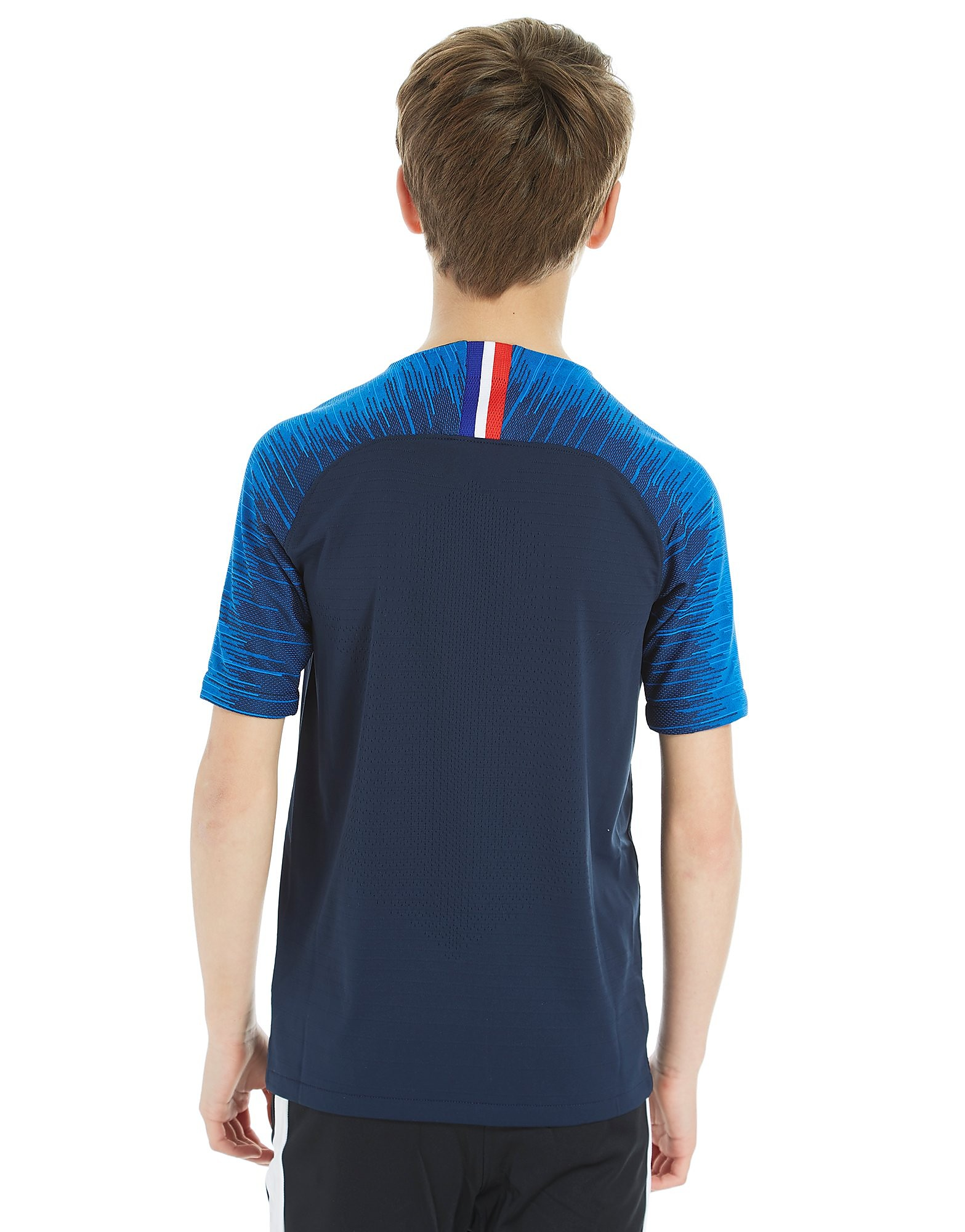 Nike France 2018 Hjemmebane Vapor Shirt Junior