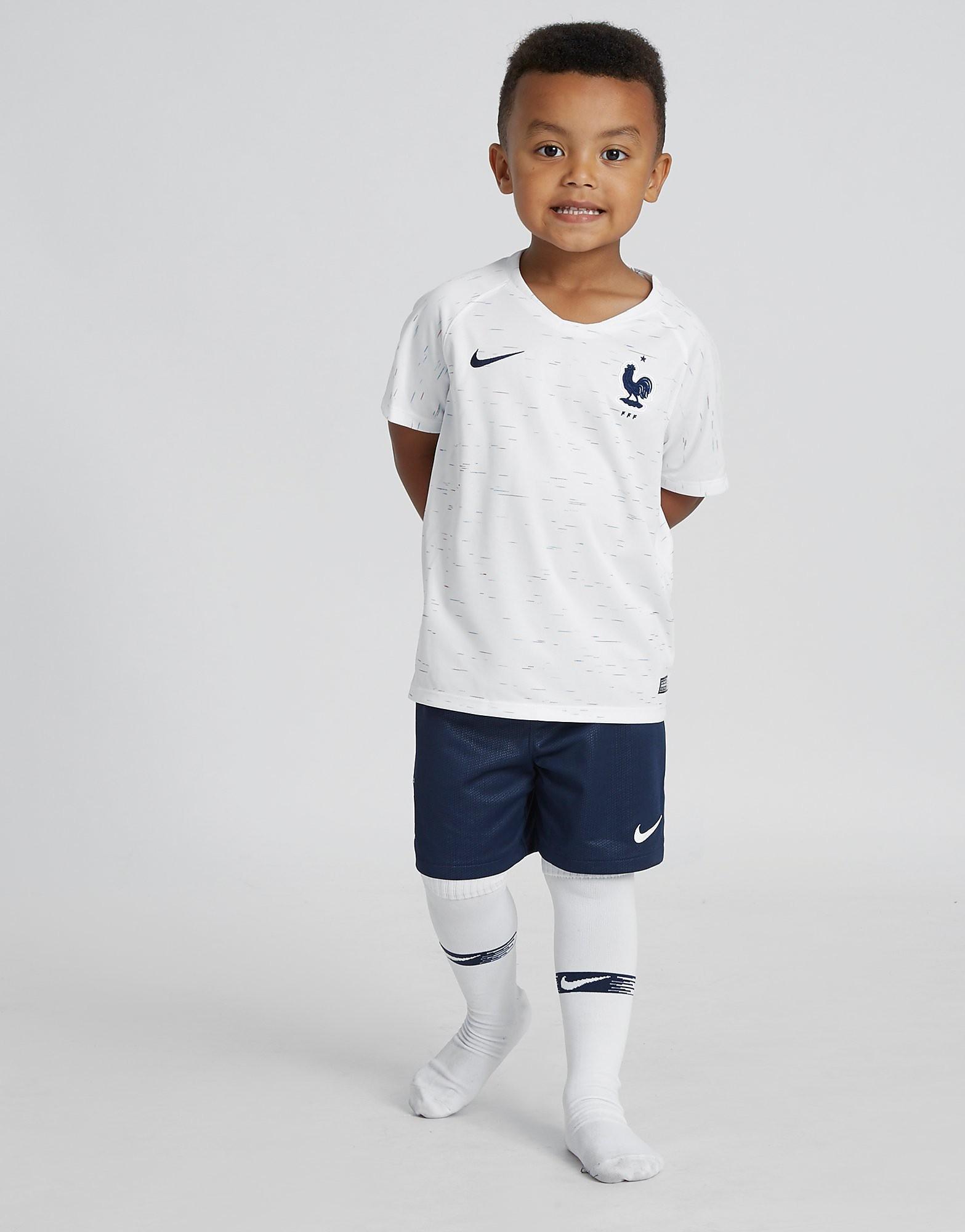 Nike conjunto Francia 2018 2.ª equipación infantil