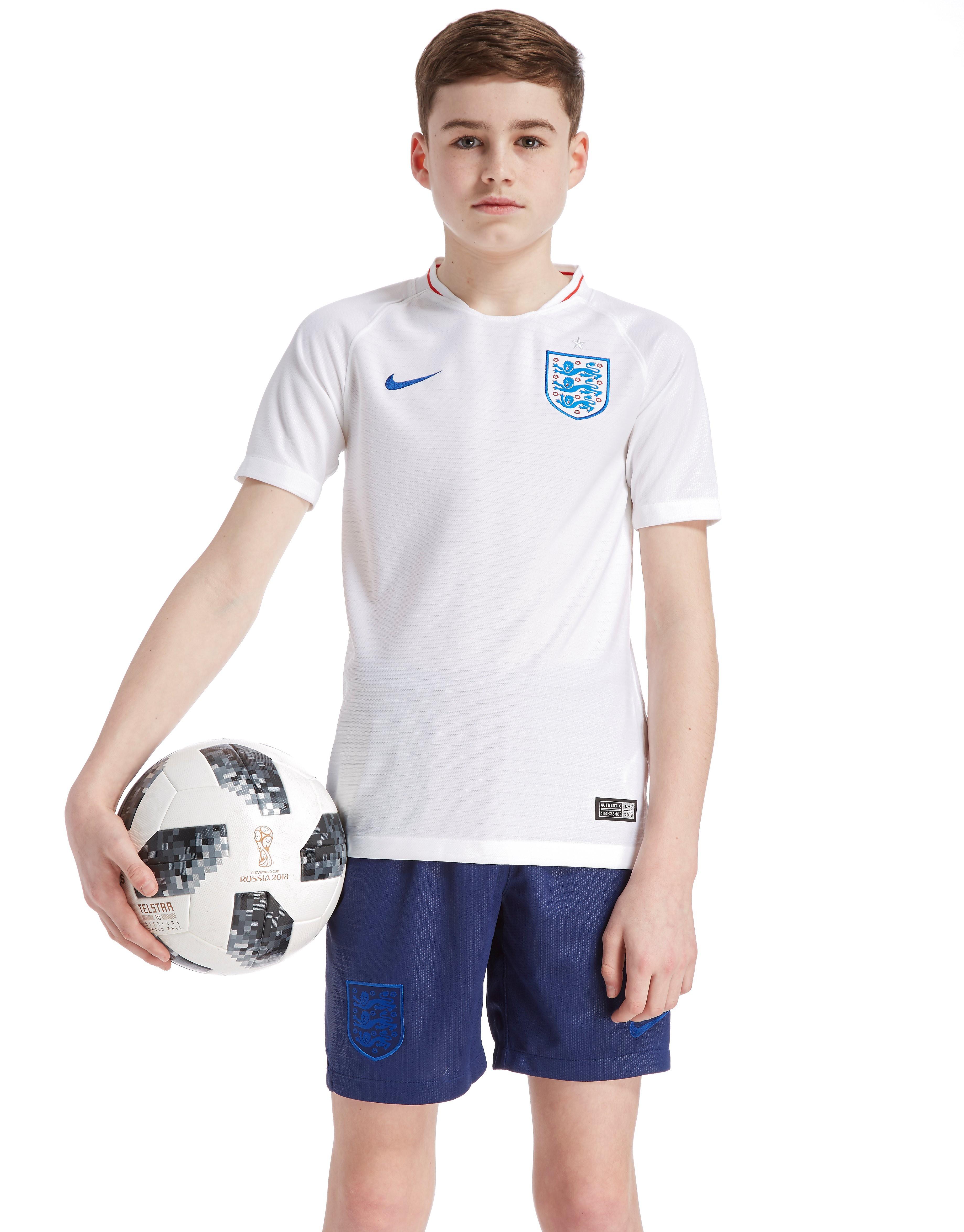 Nike England 2018 Home Shirt Junior