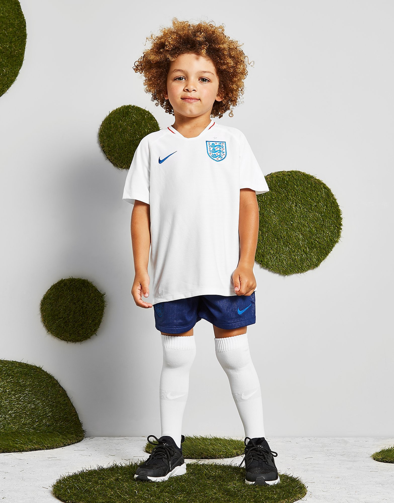Nike England 2018 Home Kit Children