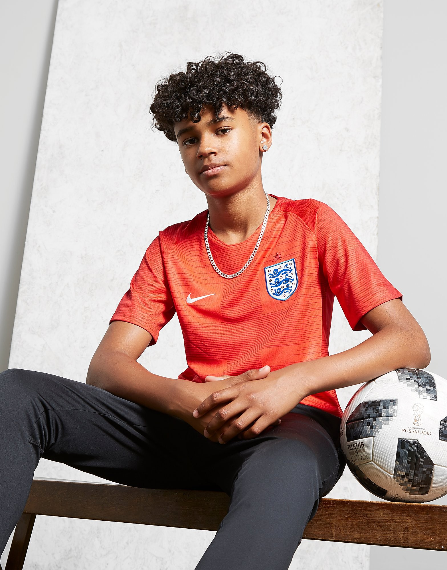 Nike England 2018 Away Shirt Junior
