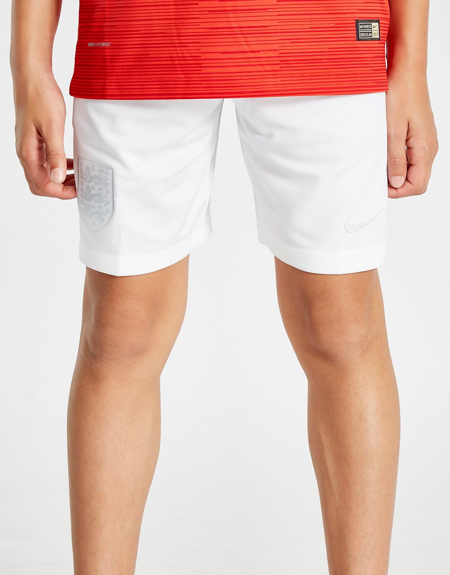 Nike England 2018 Away Shorts Junior