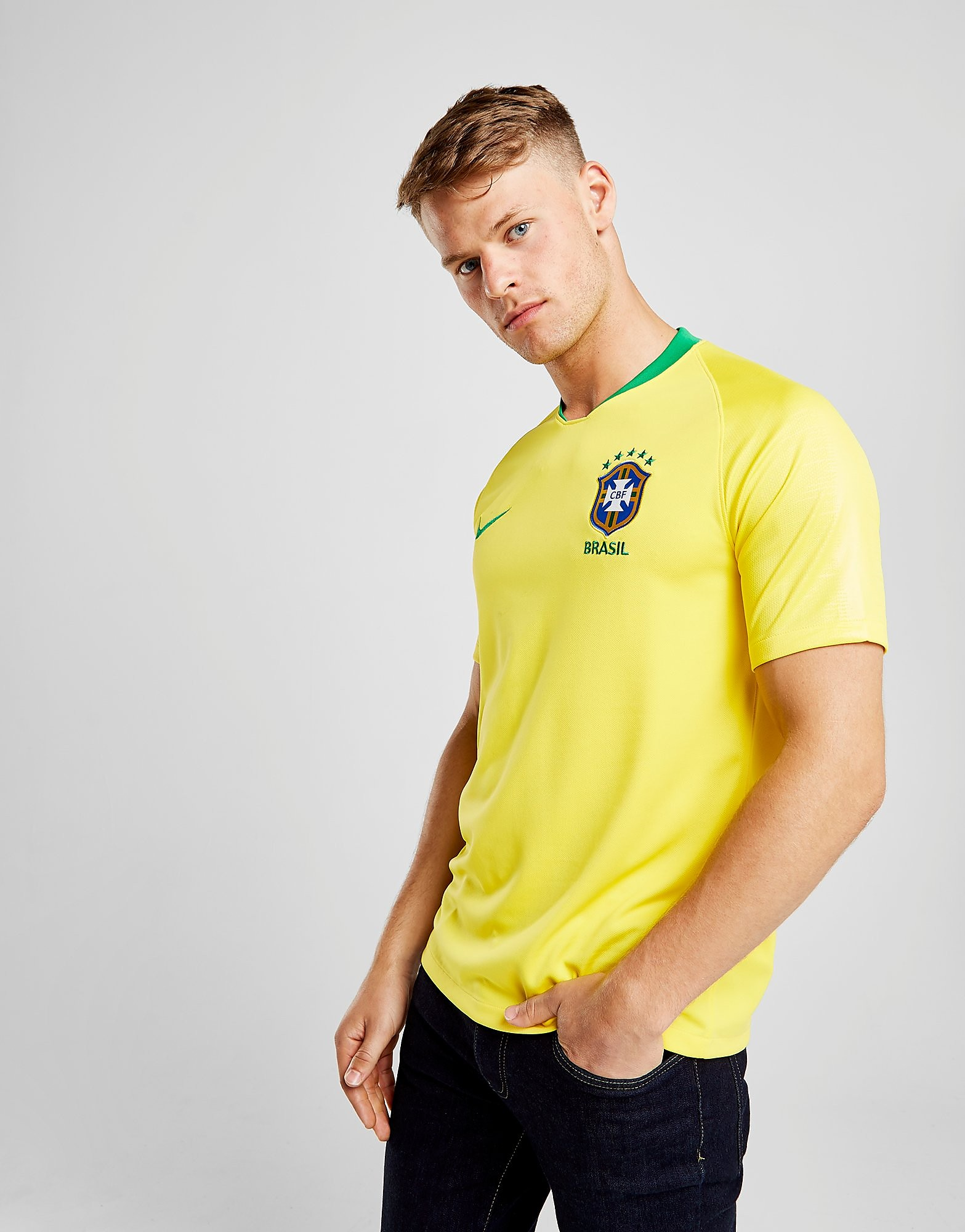 Nike Brazil 2018 Home Shirt