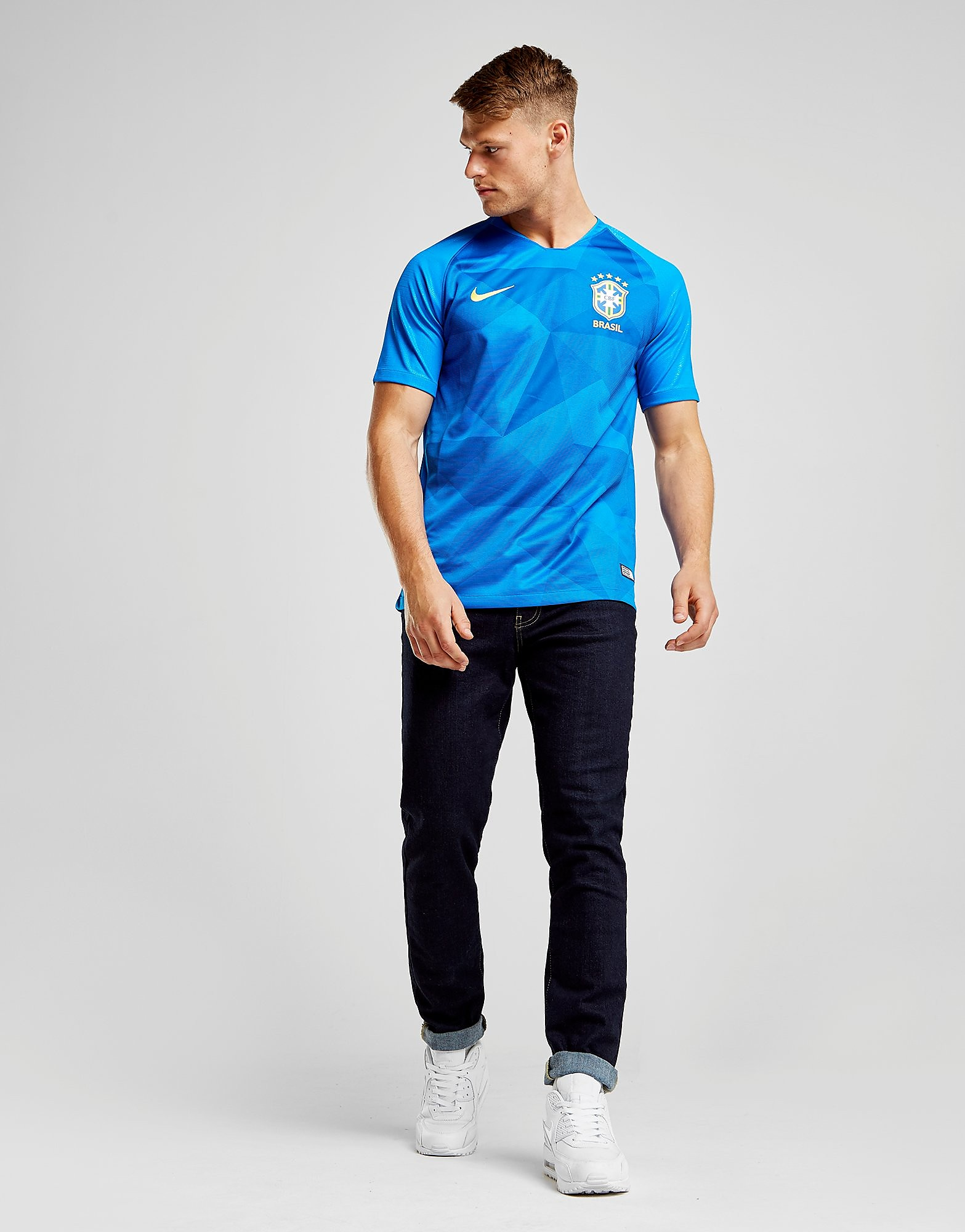 Nike Maillot Away Brésil 2018 Homme