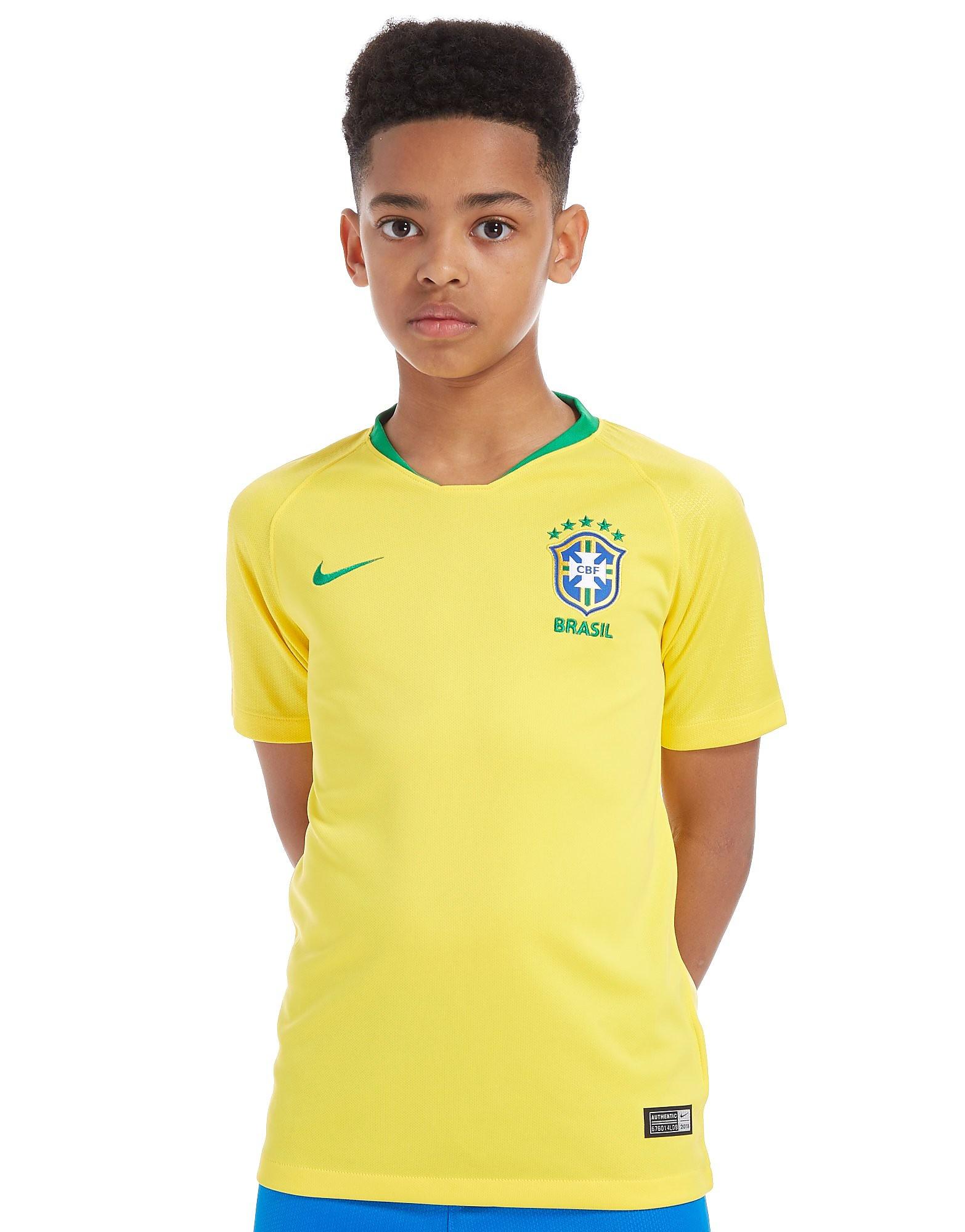 Nike Brazil 2018 Home Shirt Junior