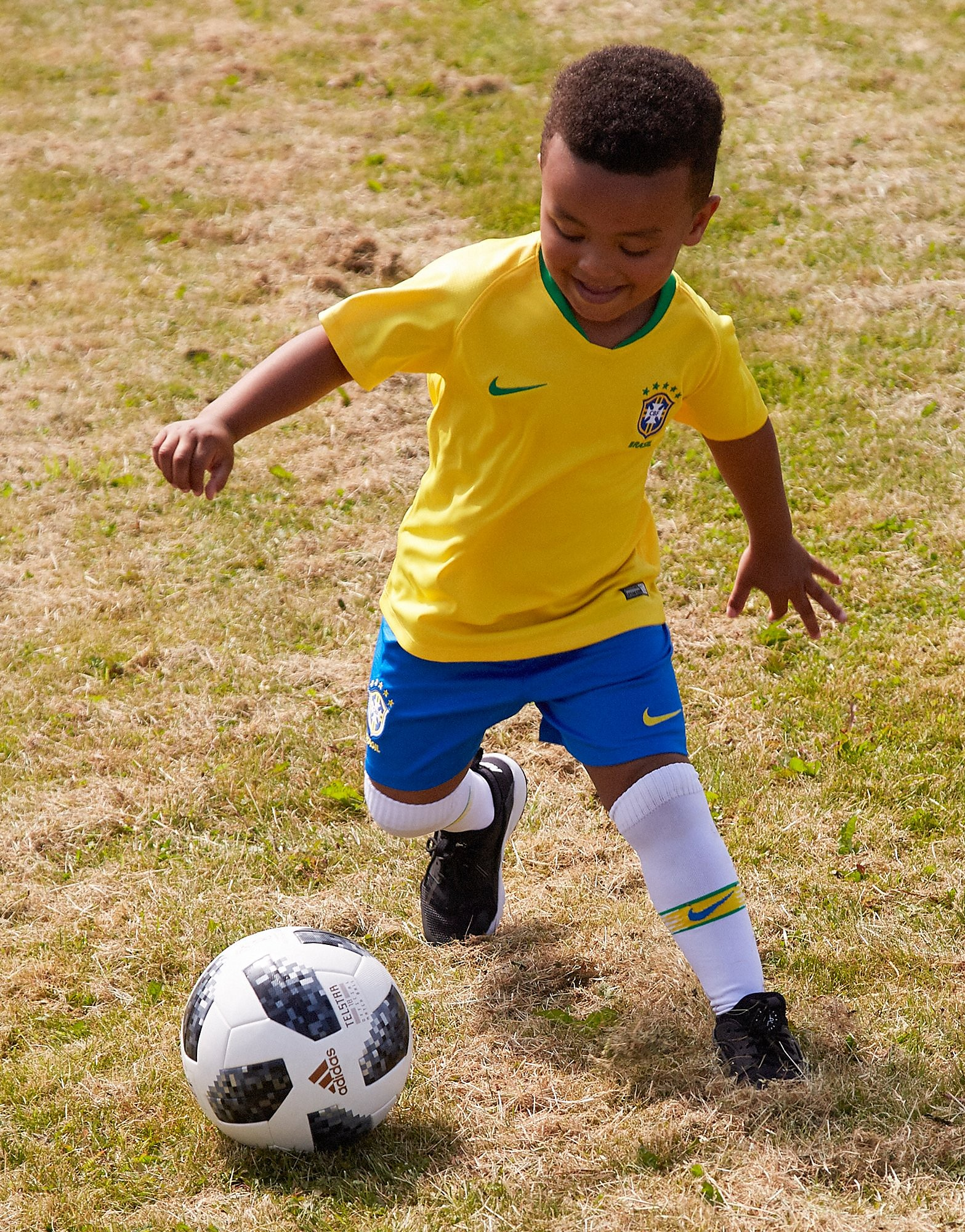 Nike Brazil 2018 Home Kit Children